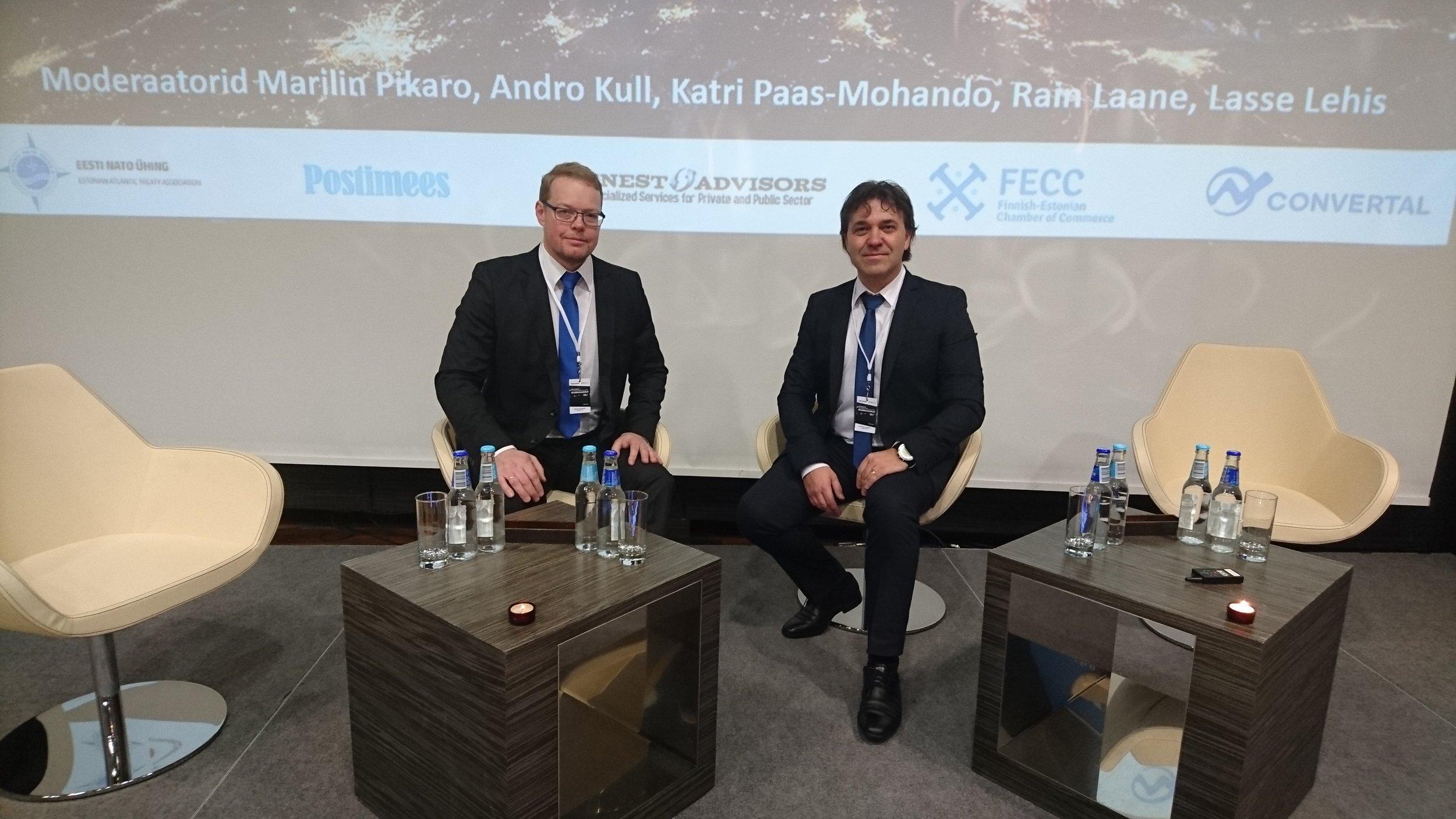 Majandusjulgeoleku konverents  2017_Finesto Advisors_ Martin Ilumets_Reigo Reimand