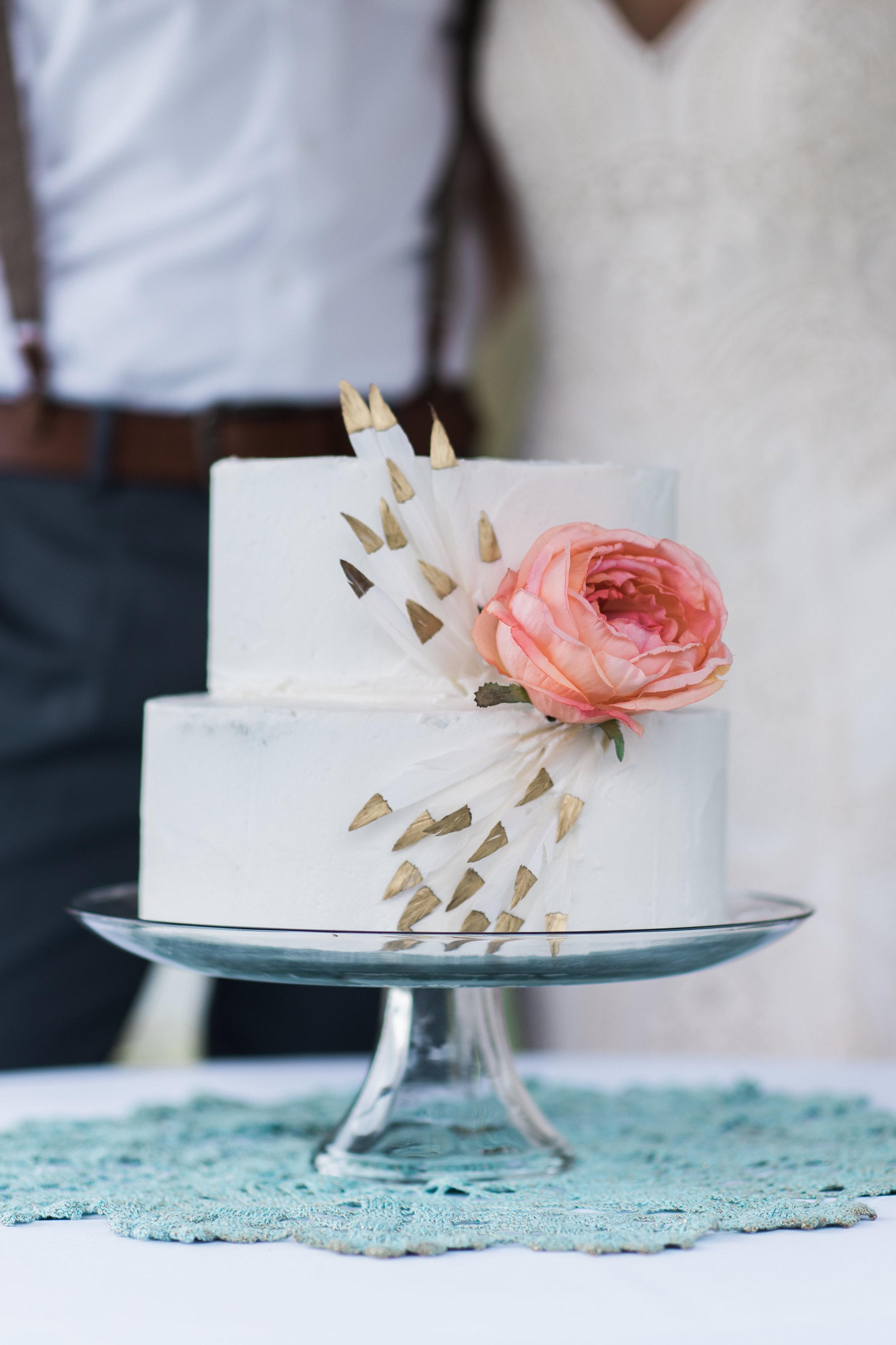 Bohemian Cake Design