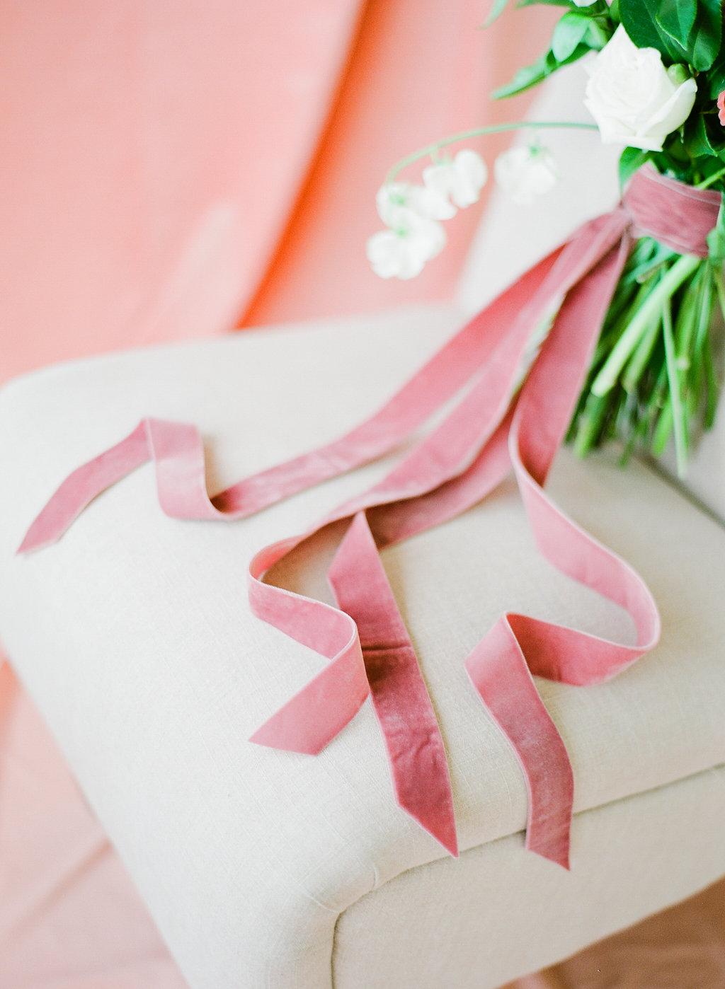 Velvet Ribbon Bouquet