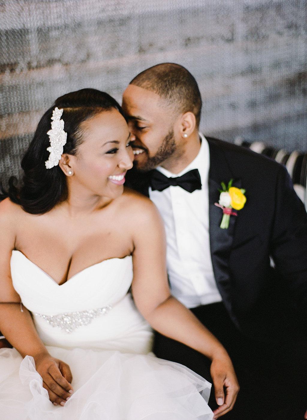 Black Bride Couple