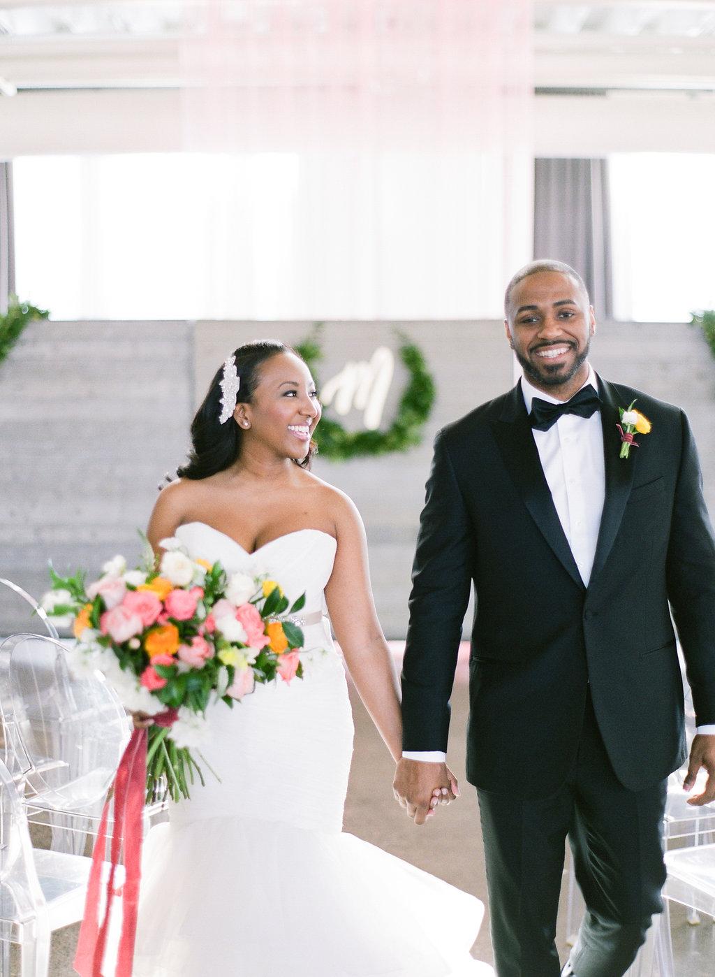Black Bride Magazine Couple