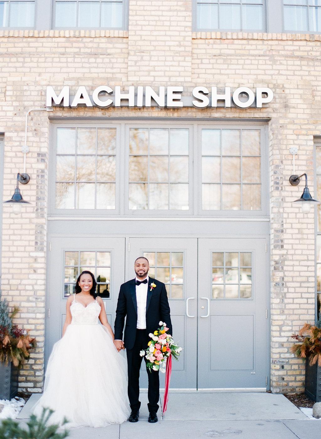 Machine Shop Styled Shoot
