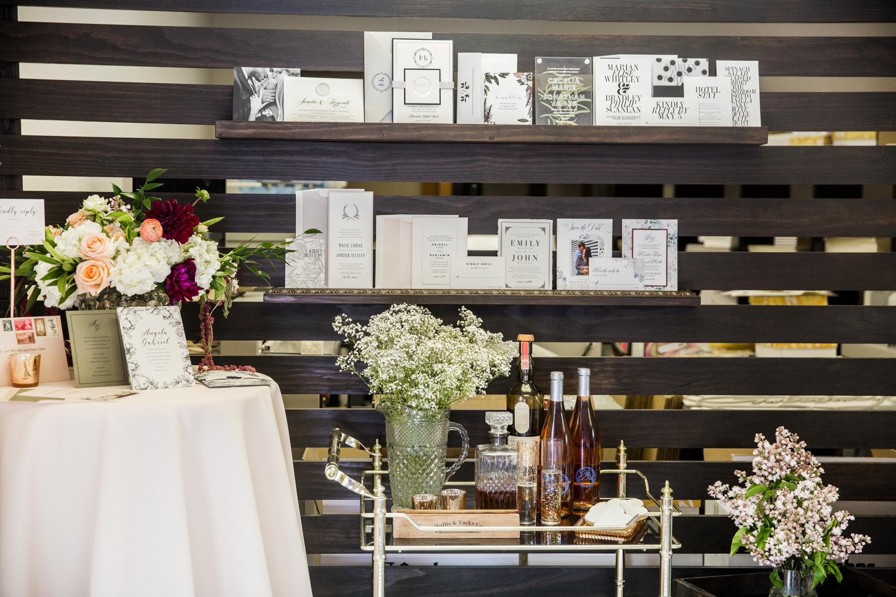 Champagne Press Stillwater, Minnesota Wedding Invitations