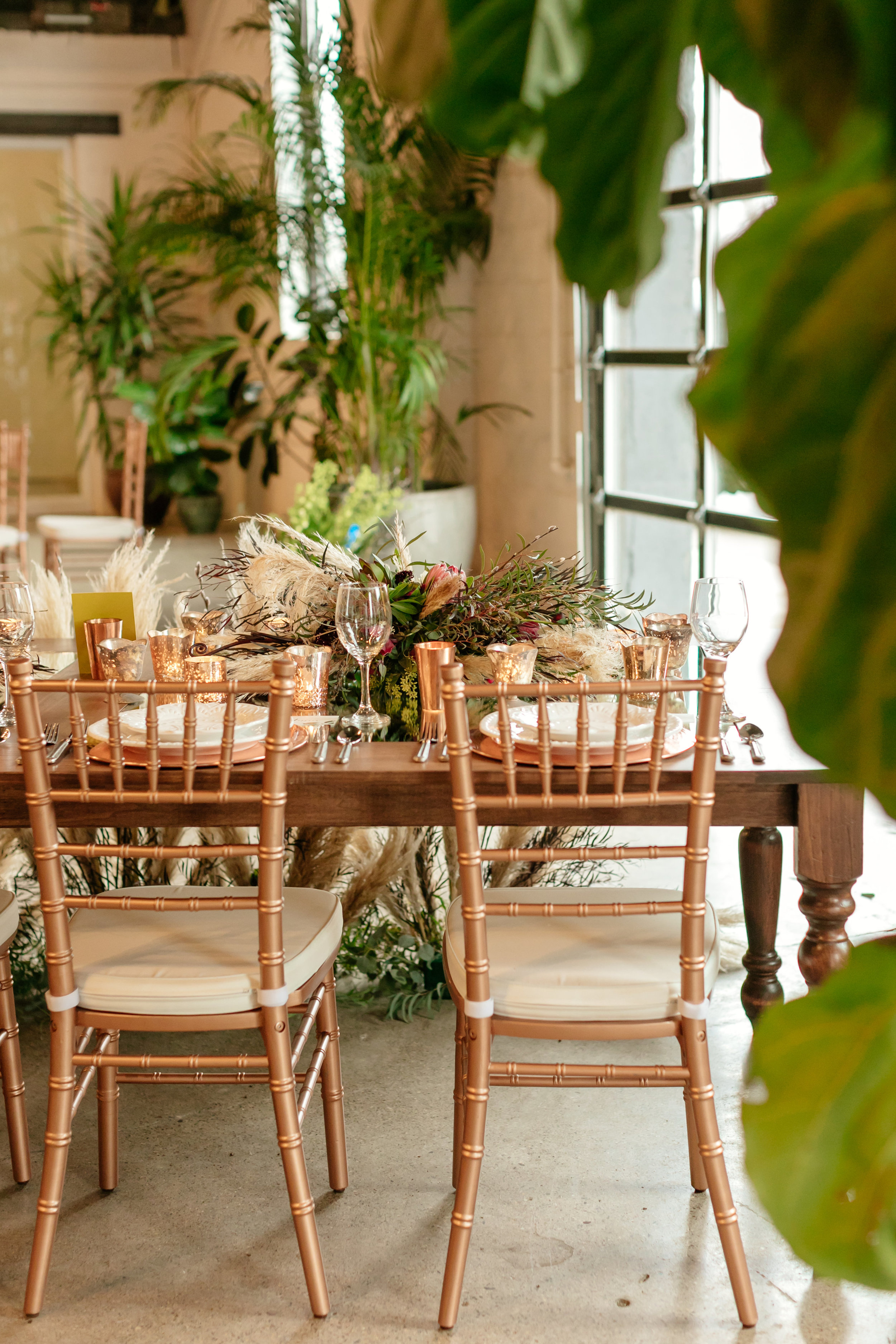 Chavari Rose Gold Chairs