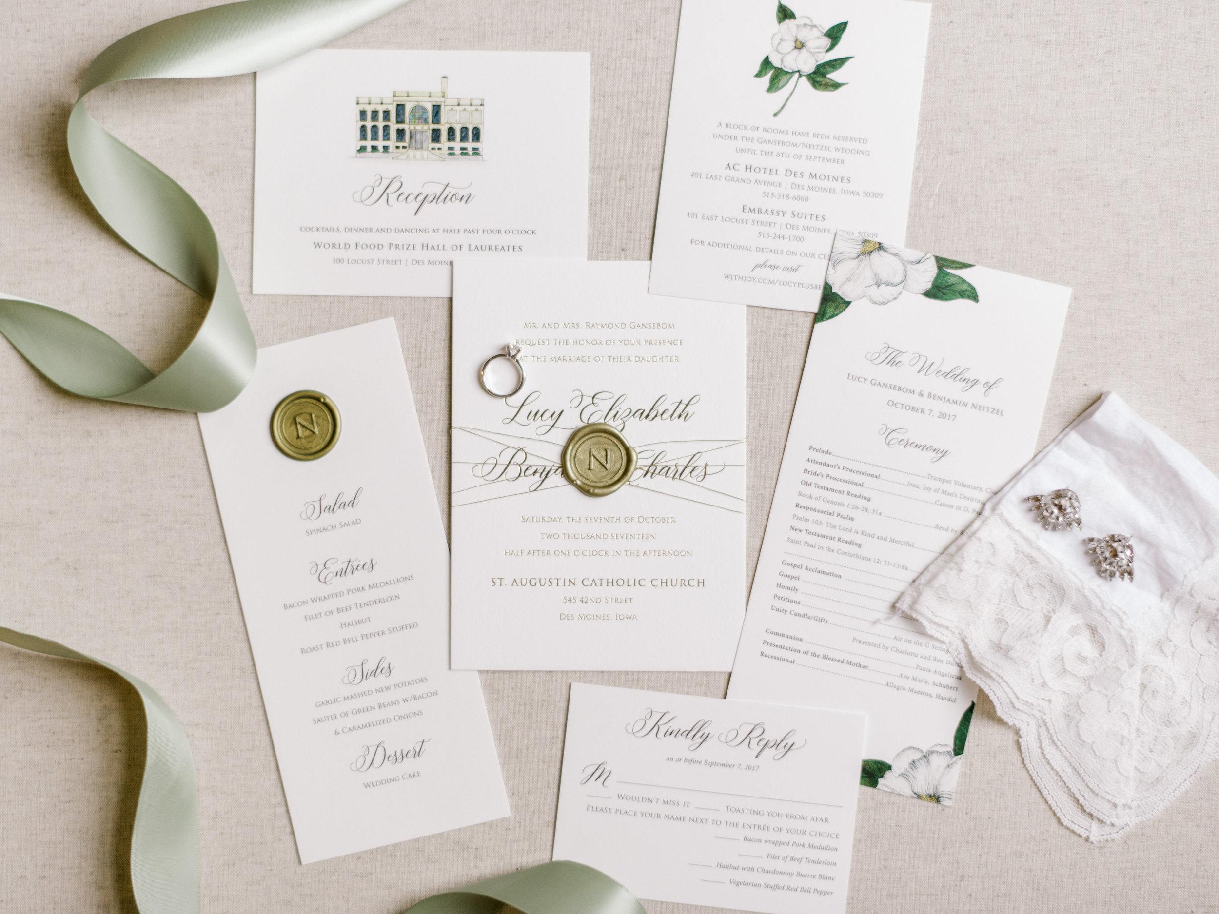 Champagne Press Fine Wedding Stationery