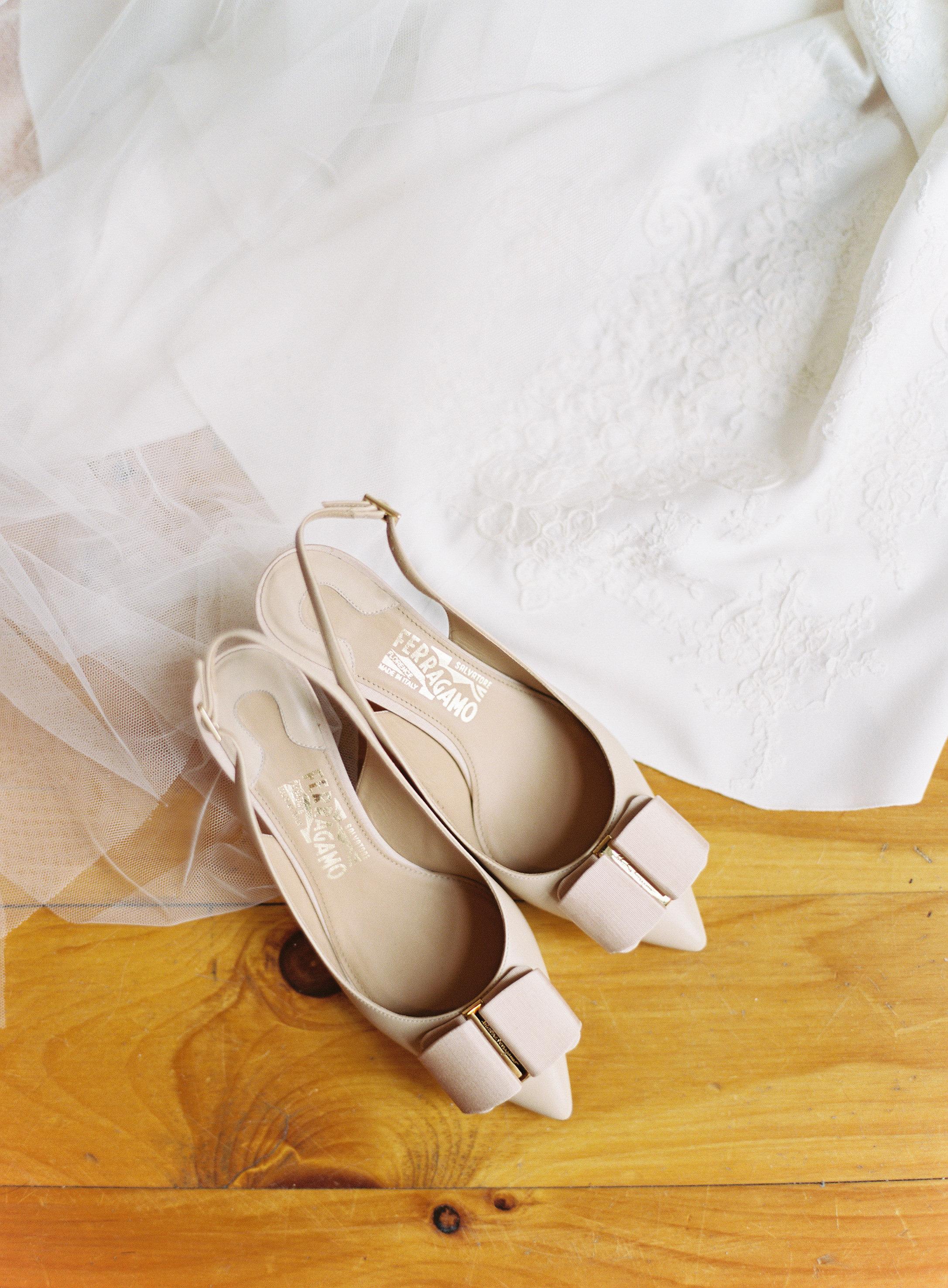 Ferragamo Wedding Heels