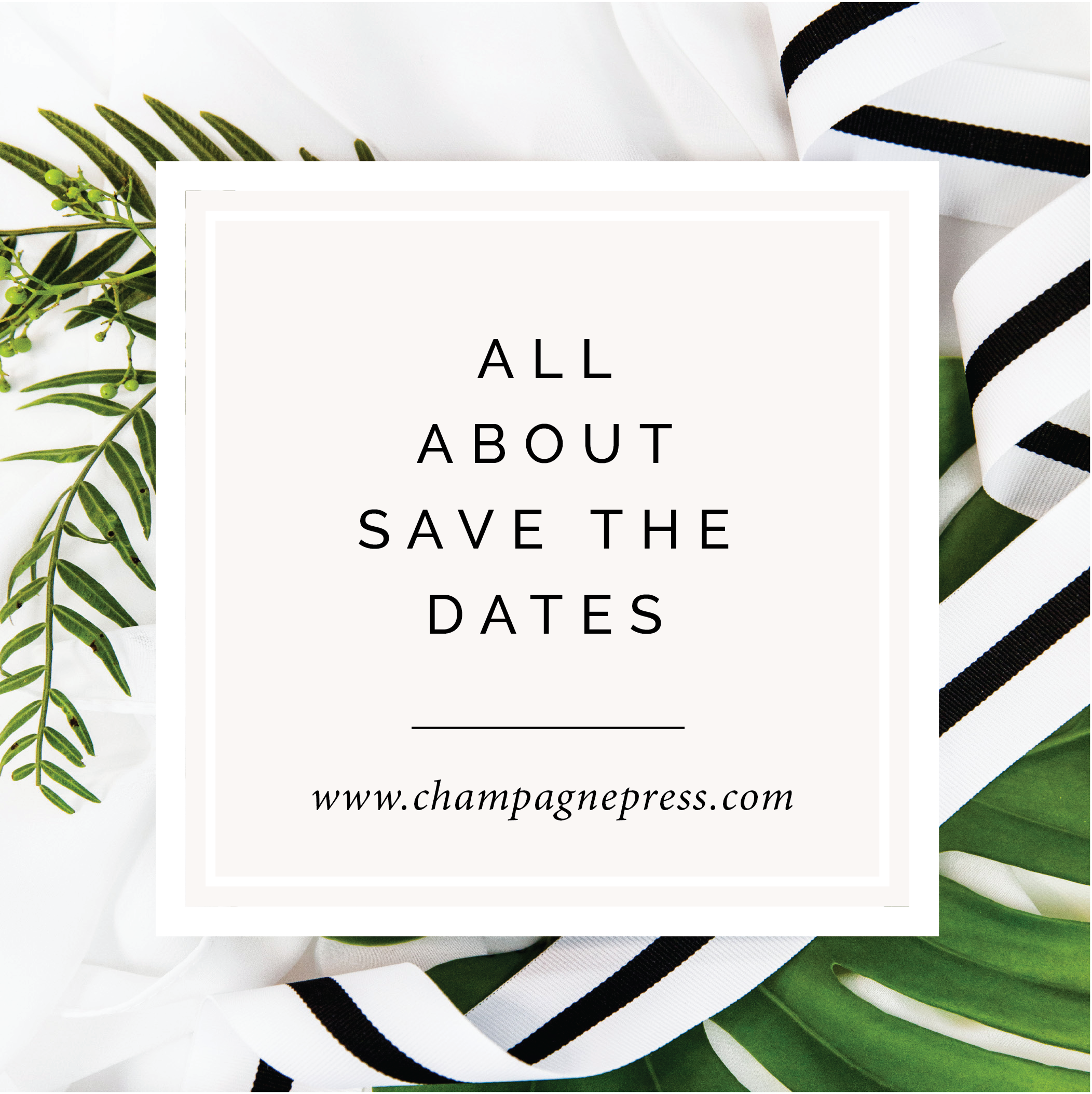 All About Save the Dates