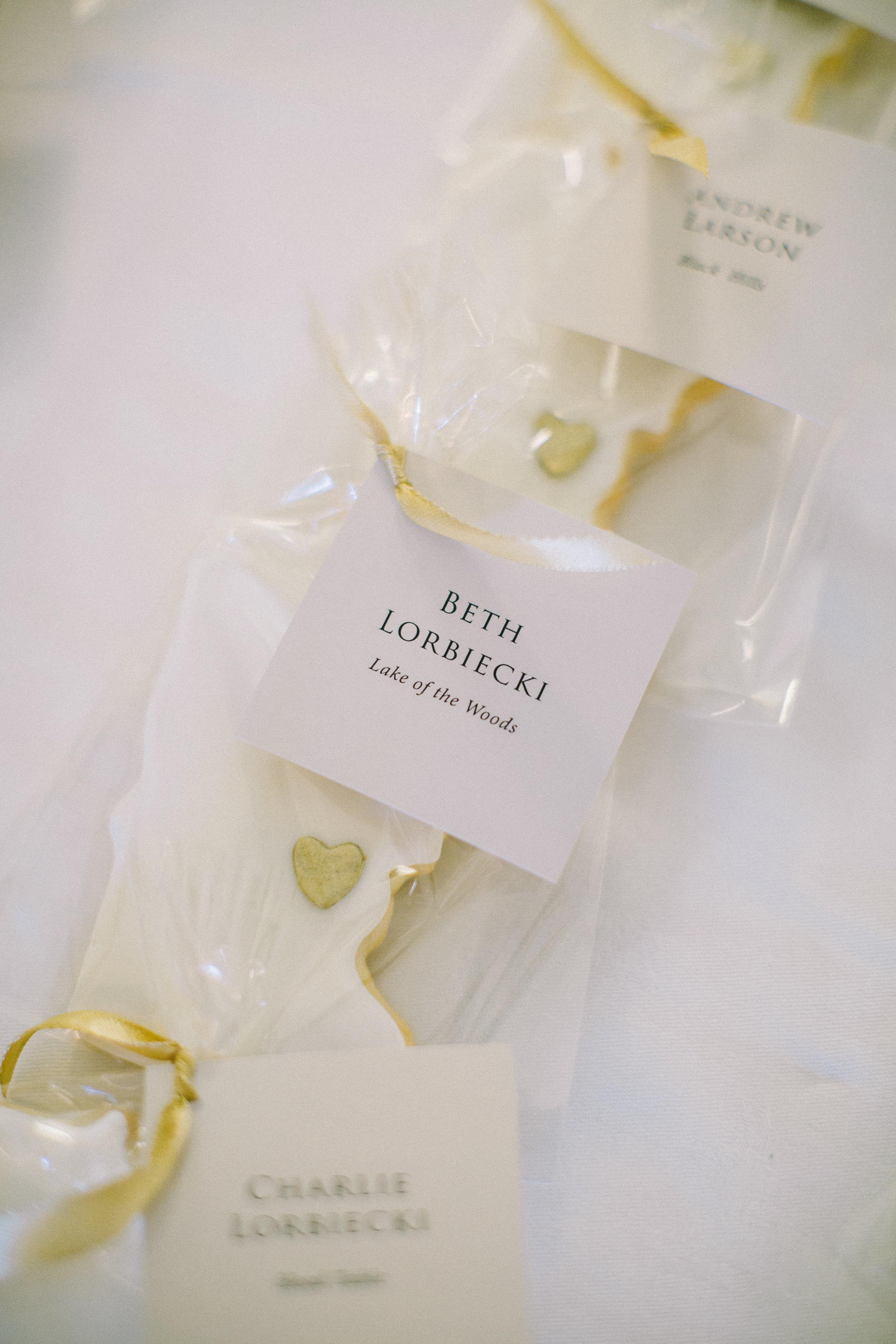 Creative Escort Card Ideas Champagne Press Farina Baking Company Jaimee Morse Photography