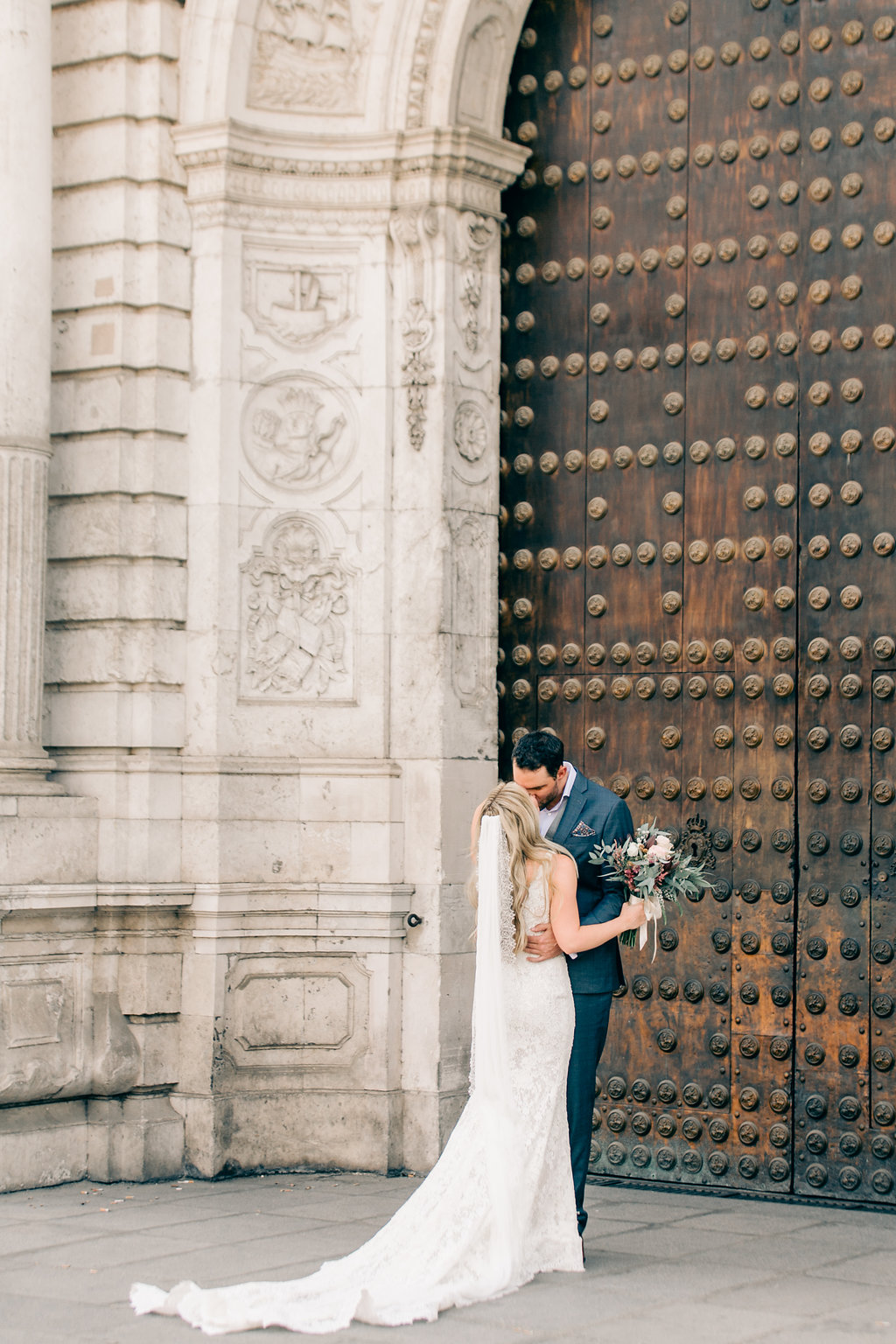 First Look Vienna Glenn Wedding Photography