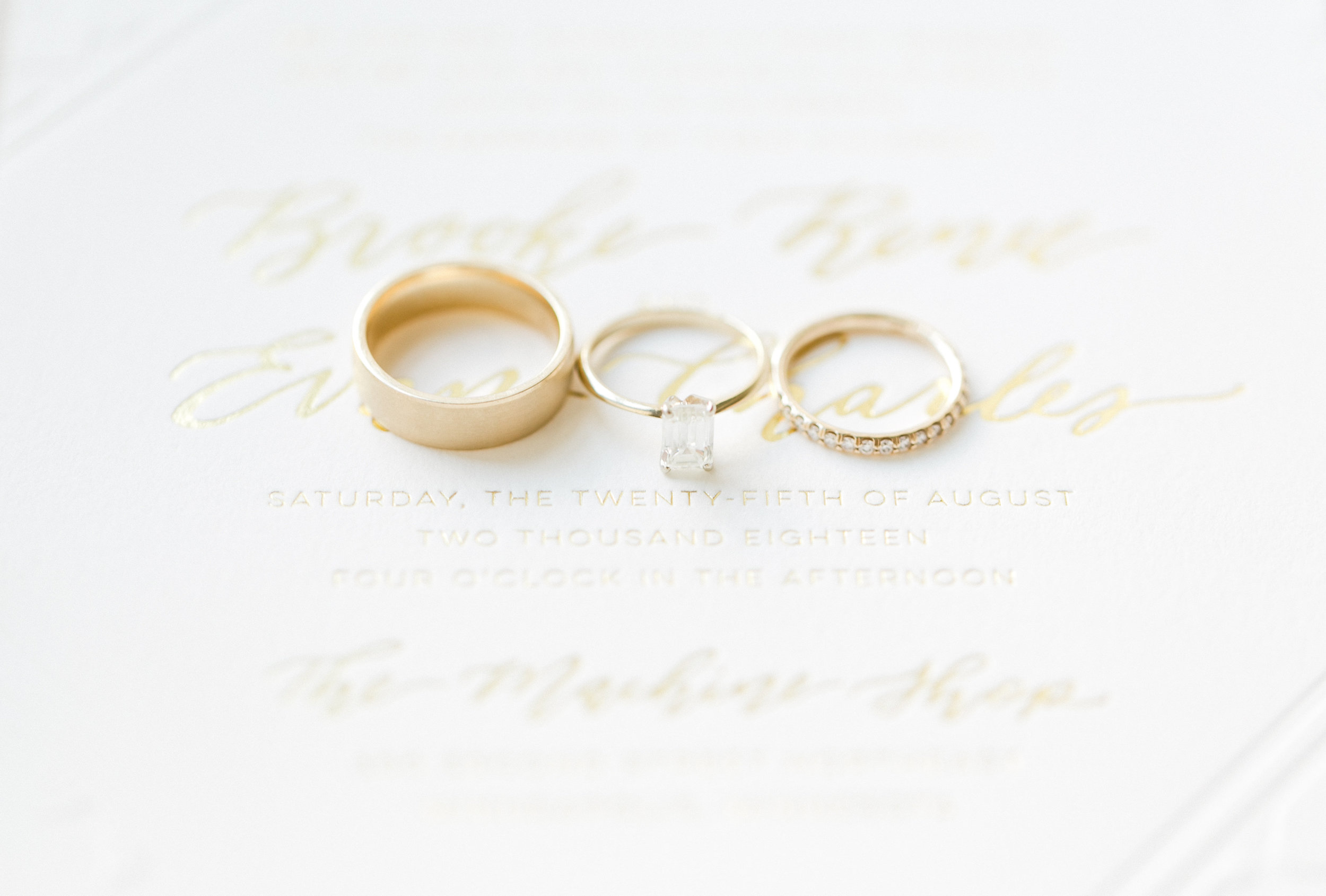 Luxury Wedding Rings Machine Shop Wedding Champagne Press Custom Wedding Invitation