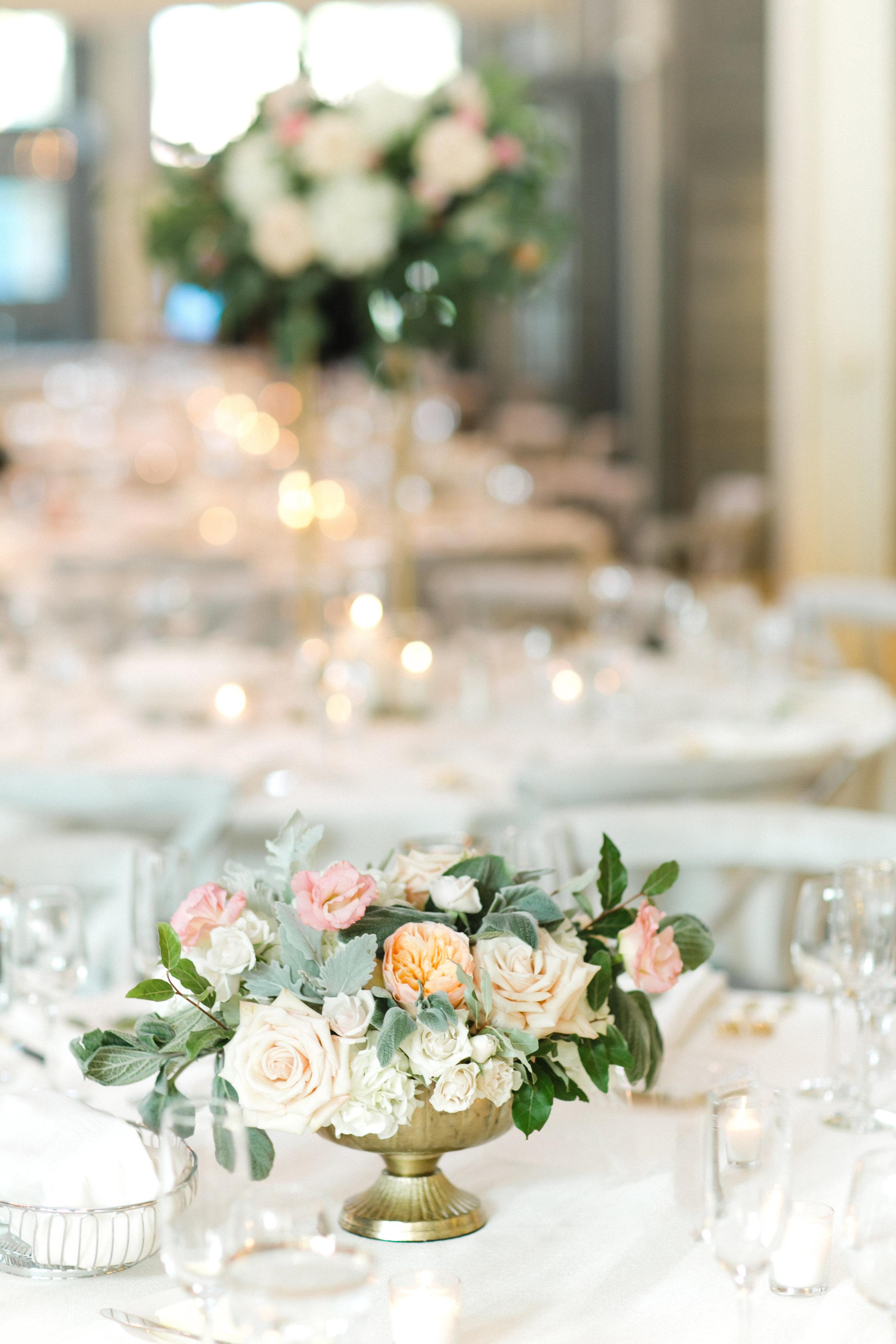 Kindred Blooms Floral Design Machine Shop Wedding Gina Zeidler Photography