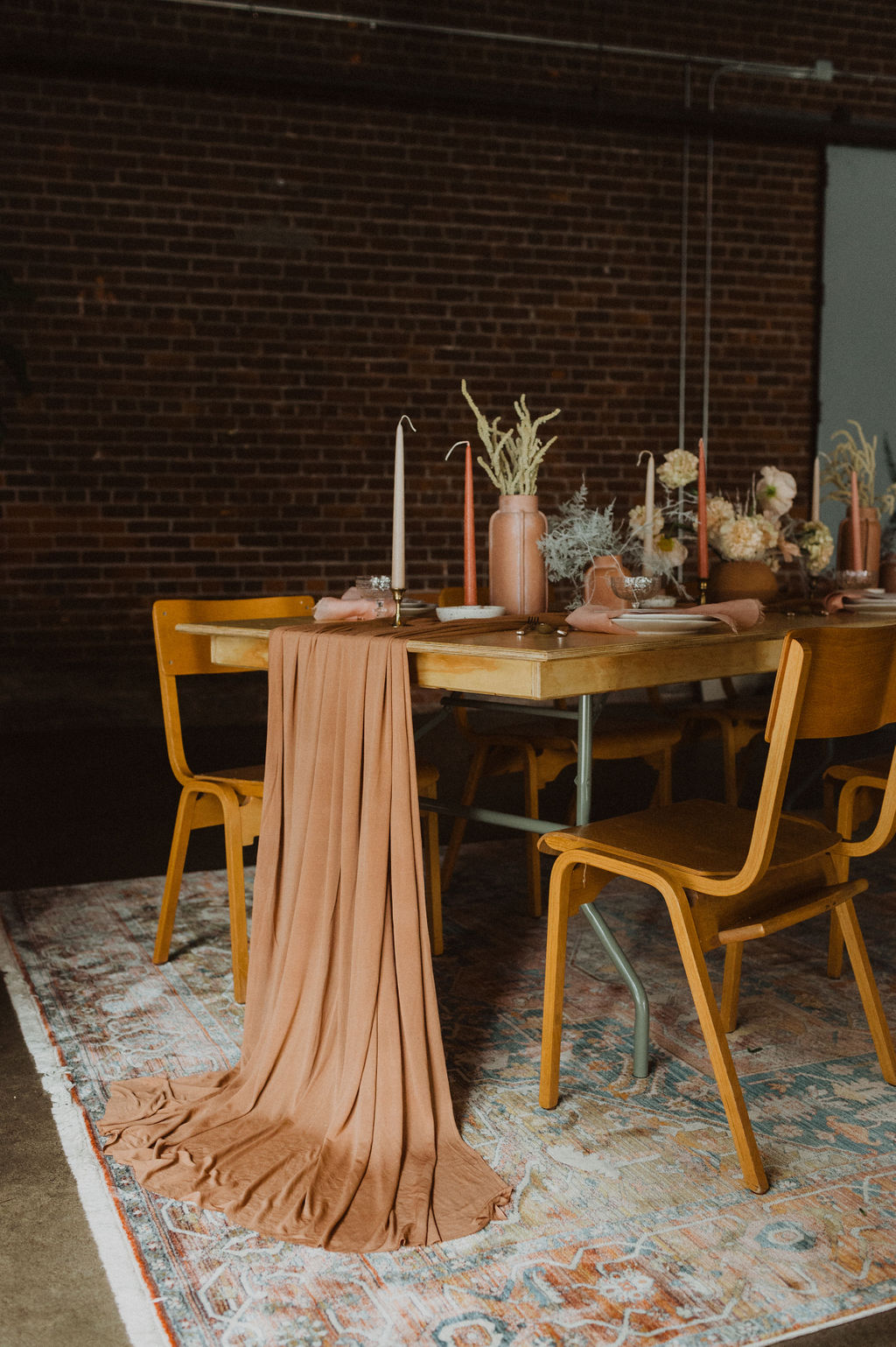 Earth Tone Wedding Tablescape by Maven at Paikka