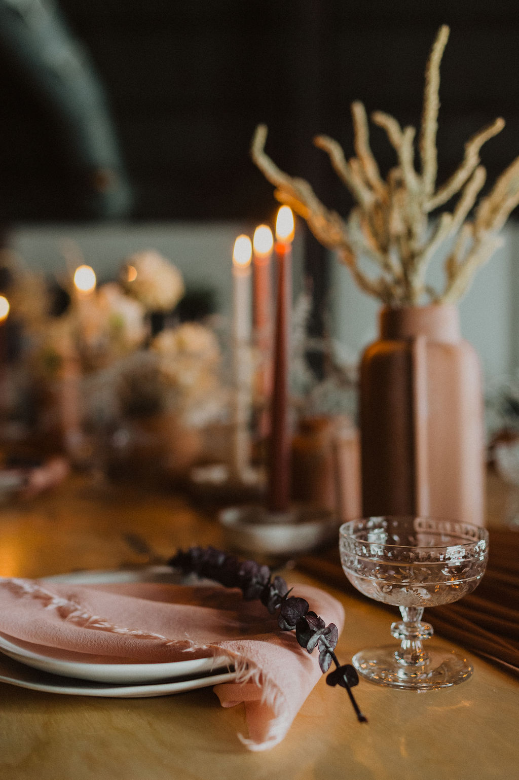 Earth Tones Wedding Table Setting by Maven.jpg