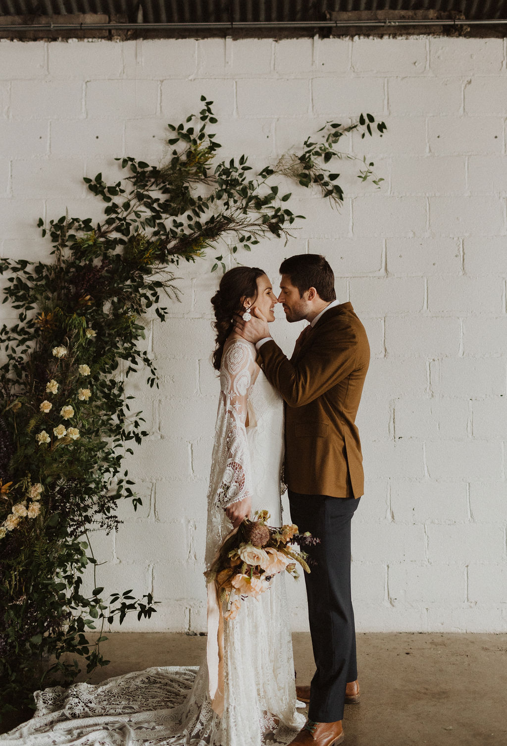 Floral Installation Wedding Inspiration