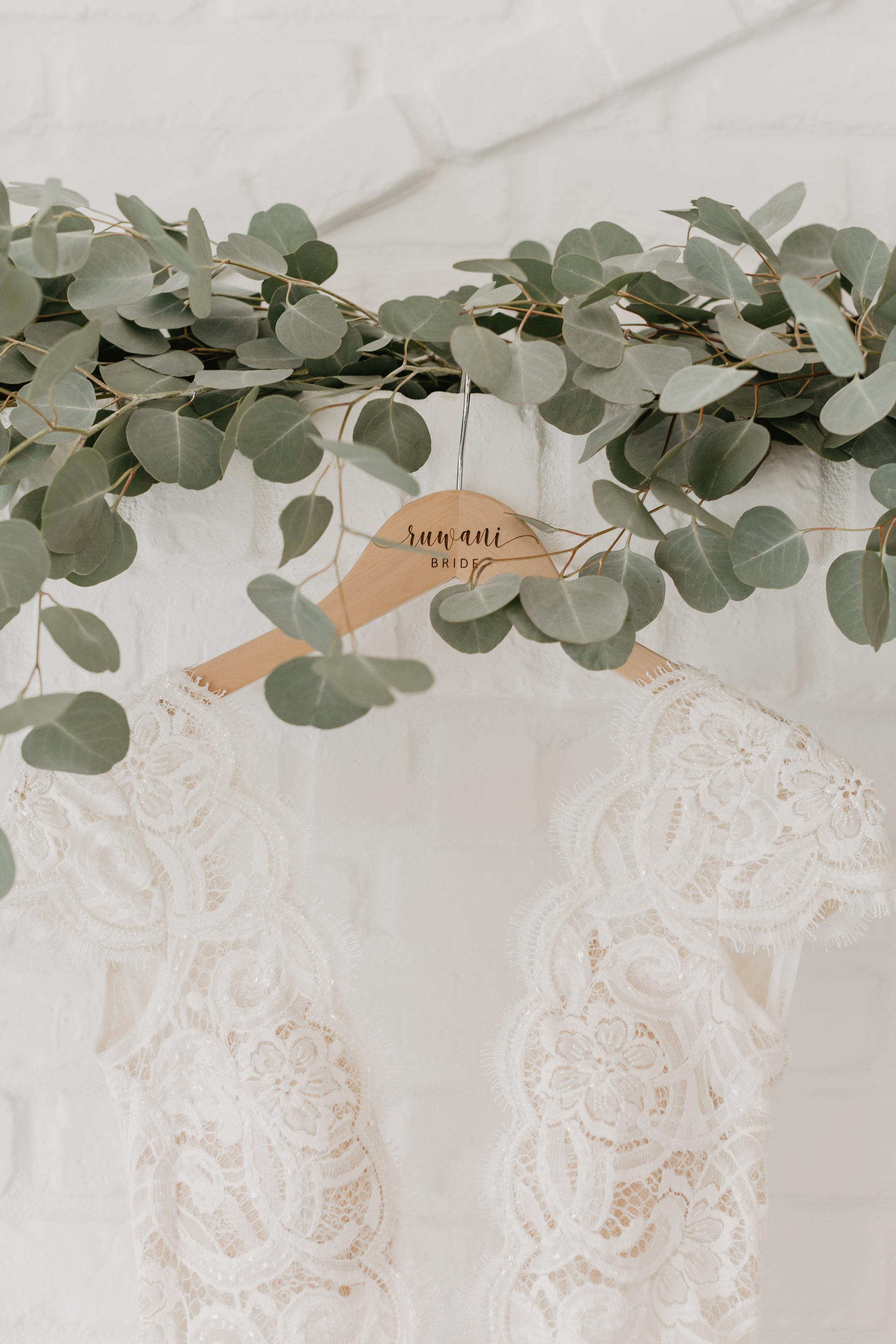 Wedding Dress Custom Hanger Kokal Photography