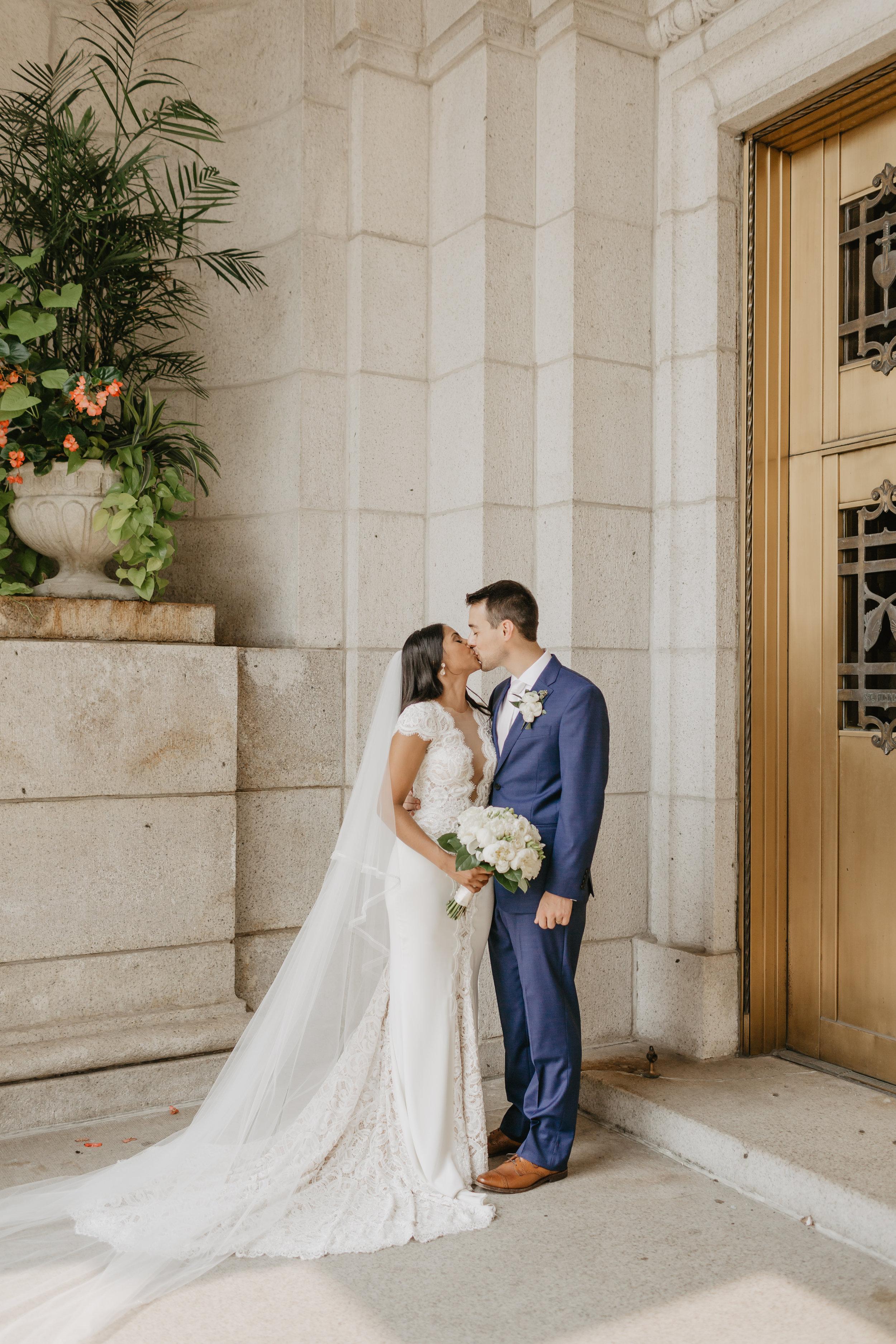 Ruwani and Zach Basilica Wedding Kokal Photography