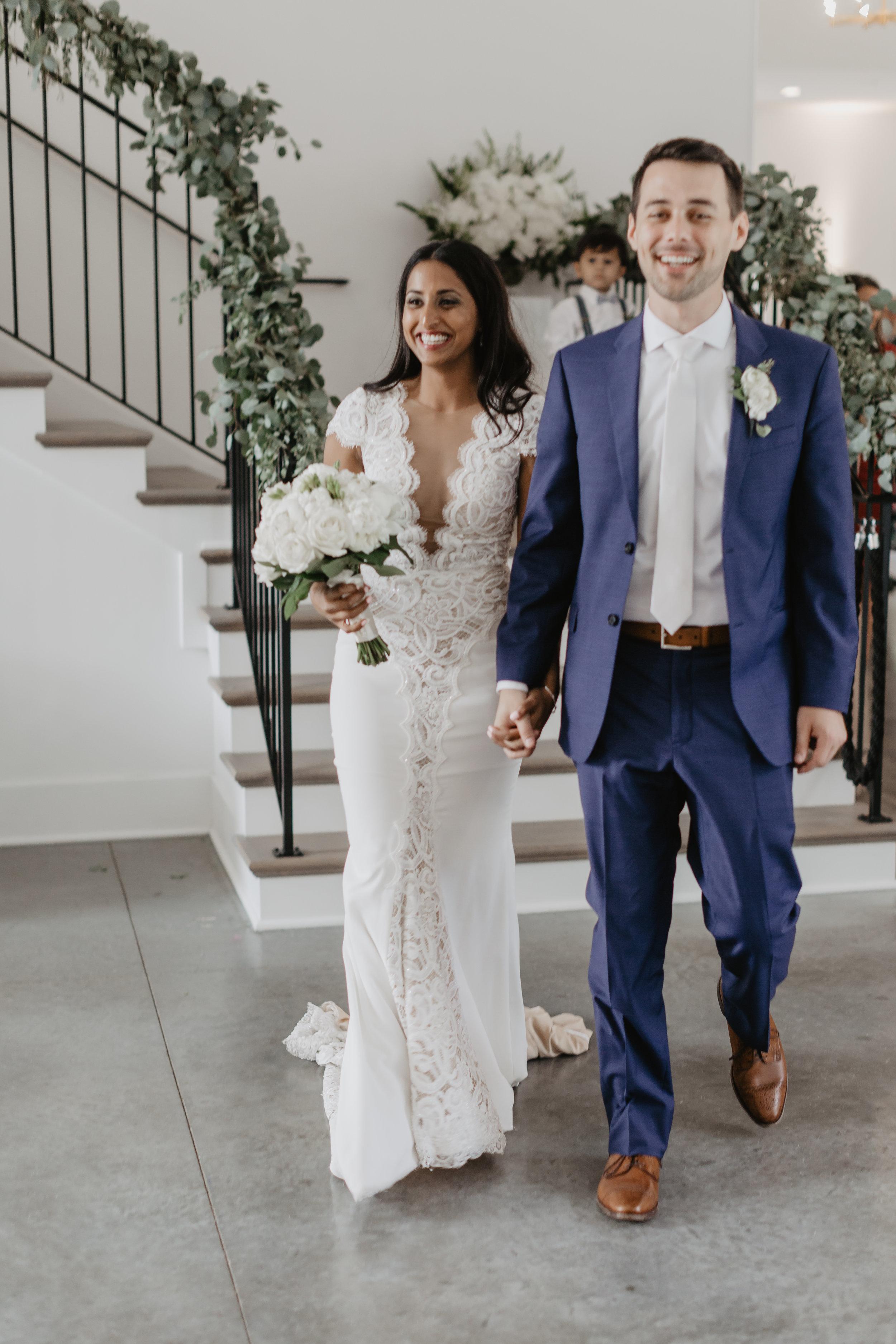 Ruwani and Zach Hutton House Wedding Kokal Photography