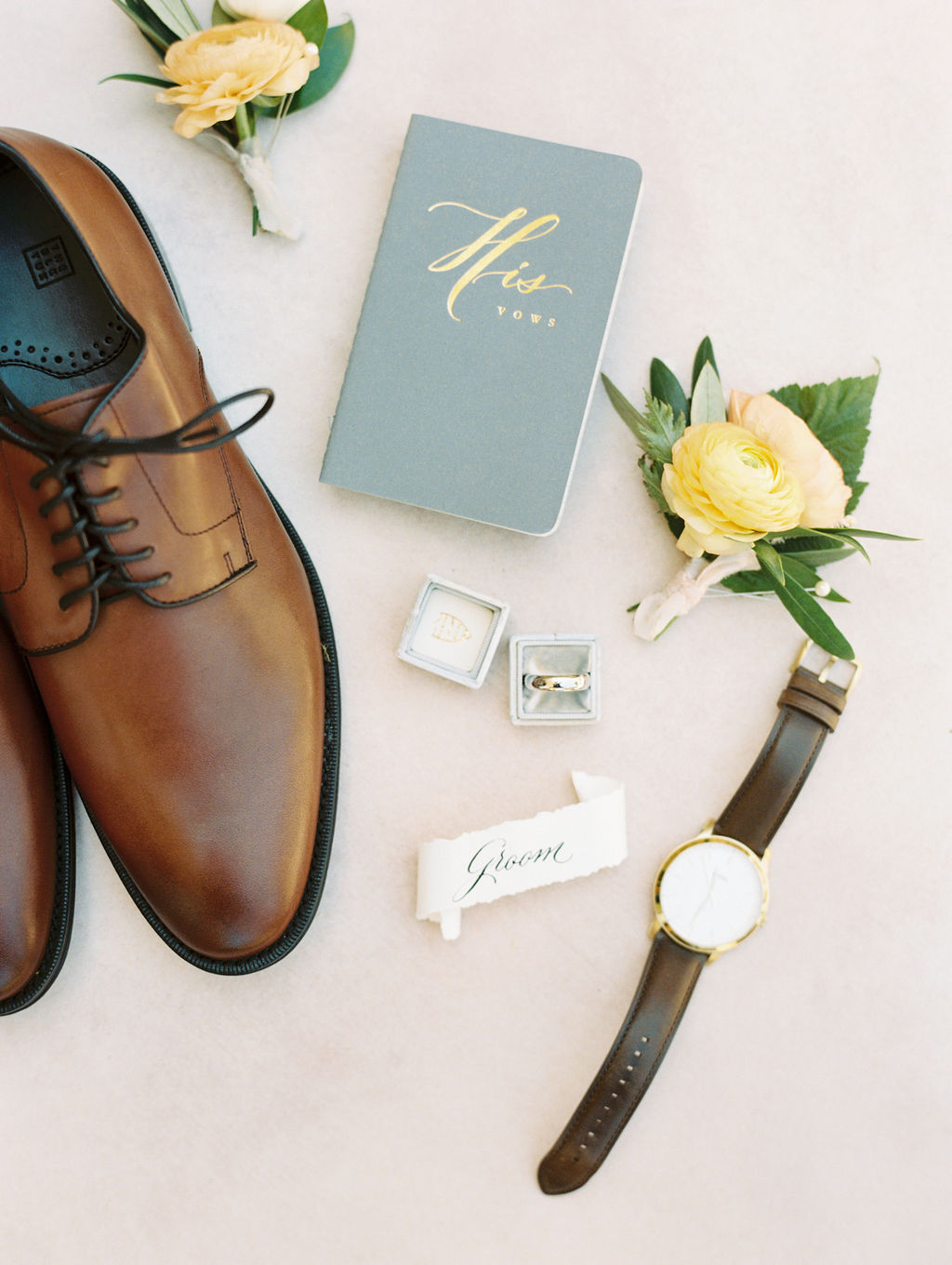 Groom's Details - Anny and Casey's Minnesota Rustic Barn Wedding