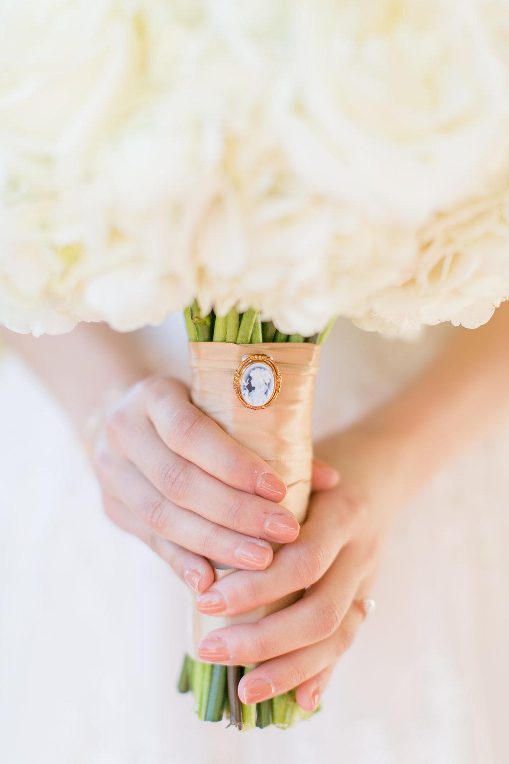 Luxury White Wedding Bouquet