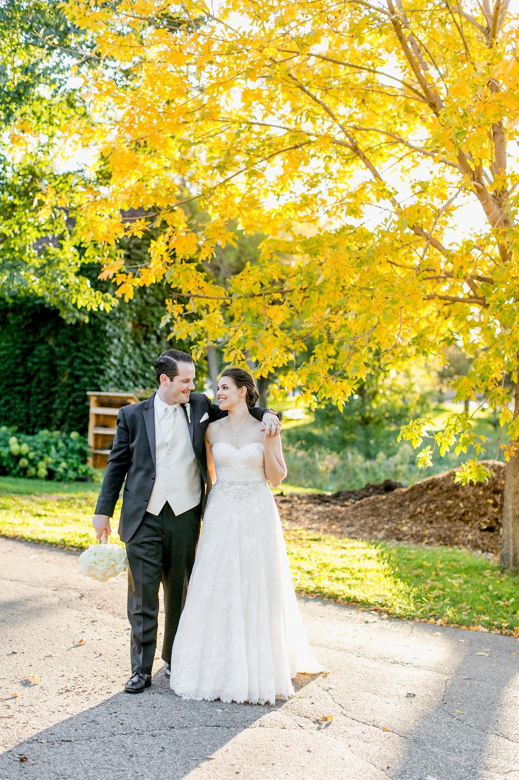 Fall Wedding Couple Portrait Minnesota Fall Wedding Ideas
