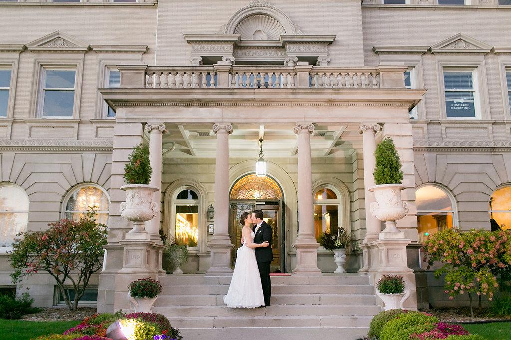 Semple Mansion Luxury Wedding