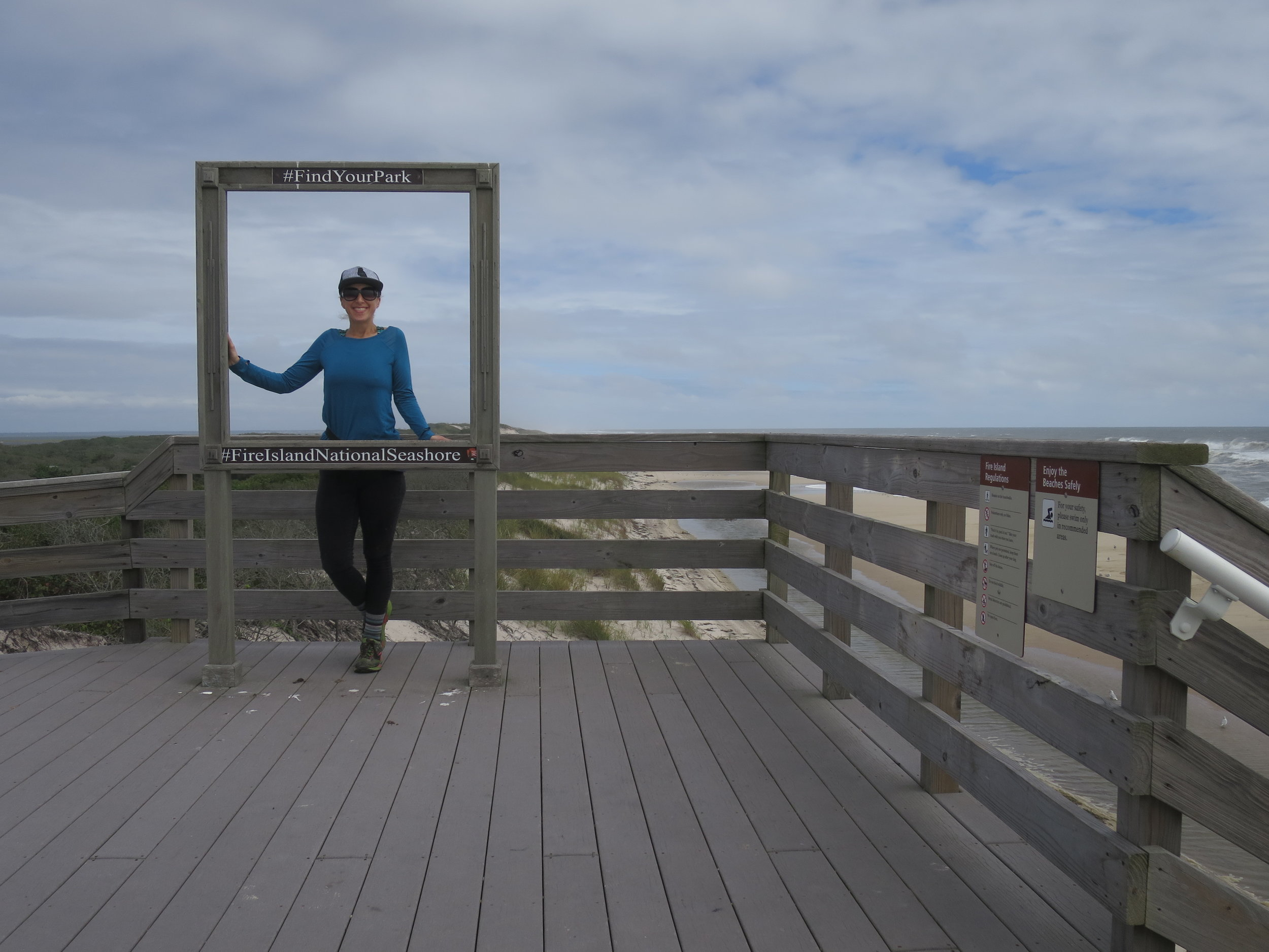 #findyourpark  Me standing near the Watch Hill Campground on Fire Island