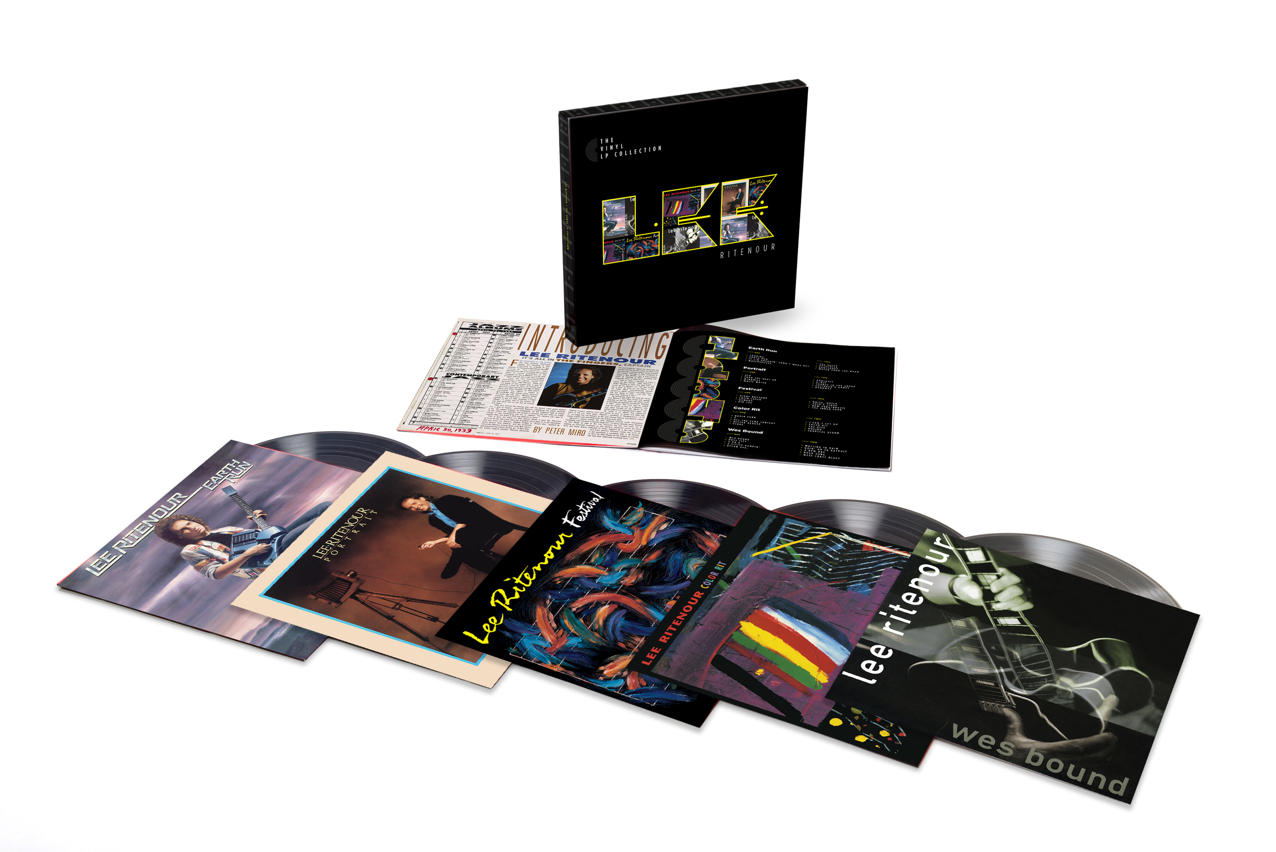 Lee Ritenour -  The Vinyl LP Collection