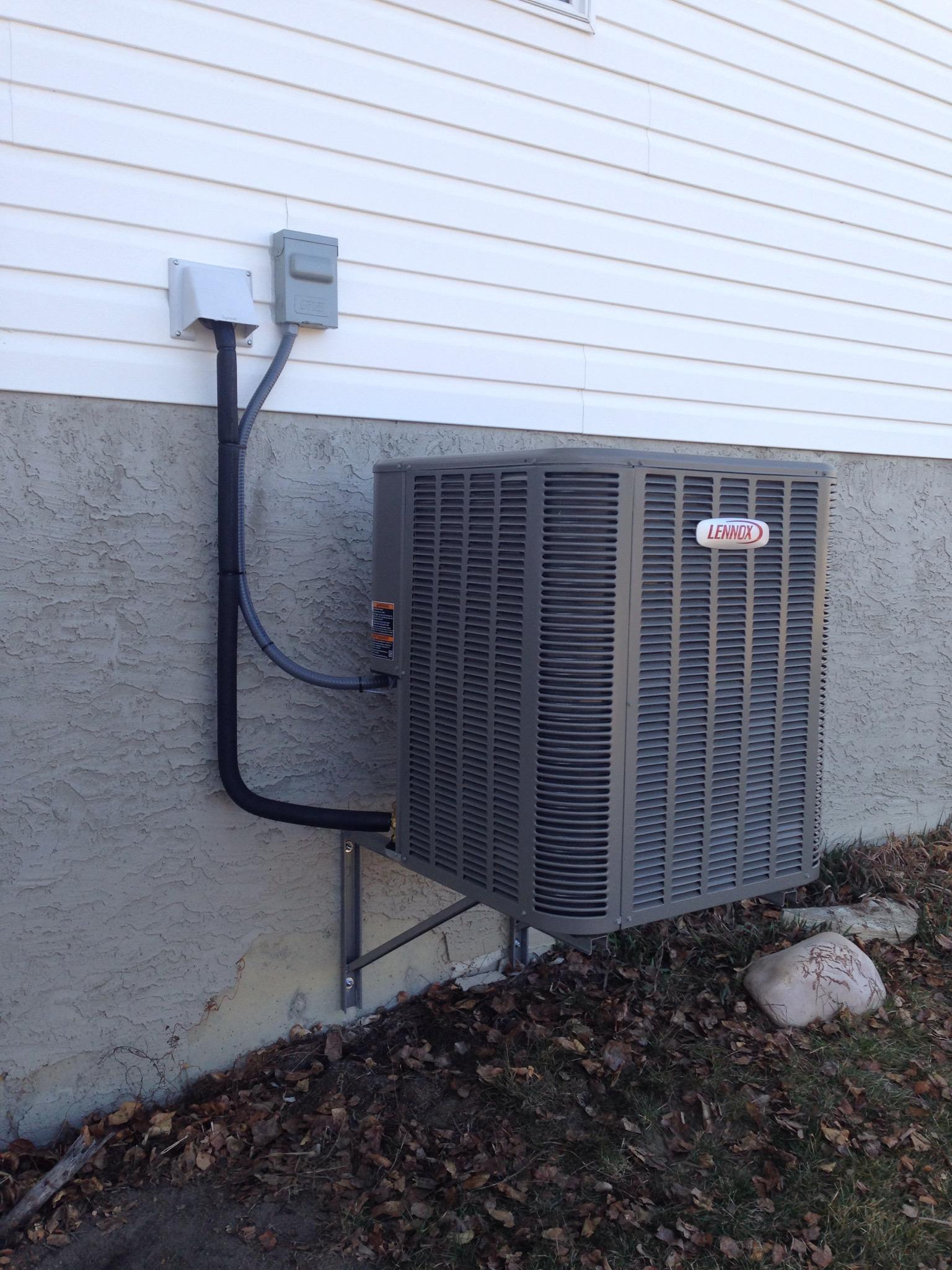 lennox air conditioner installation