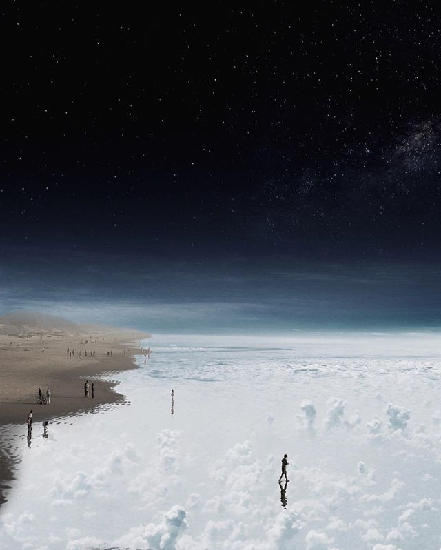 _Walking on the Sea Level_ #seaofclouds