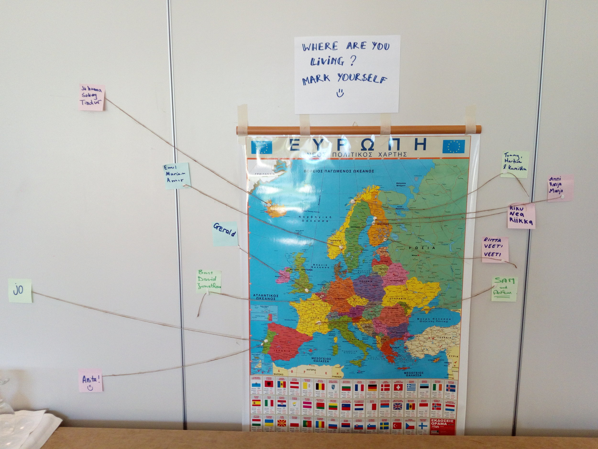 Youth and youthworkers from across europe gathered to attend this training course