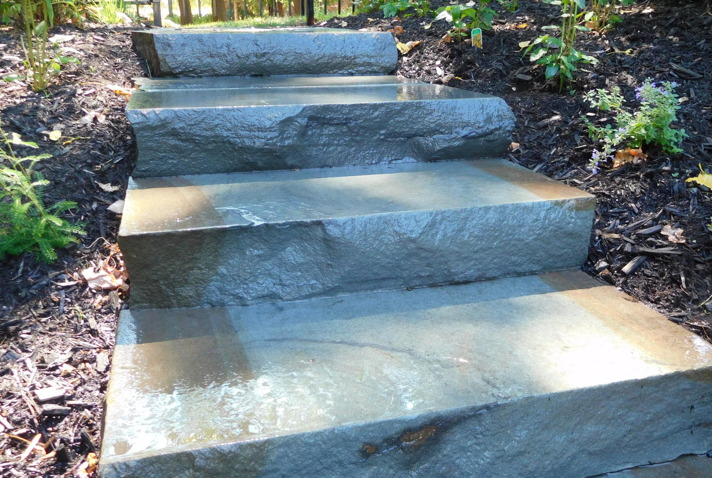 Escalier blue stone
