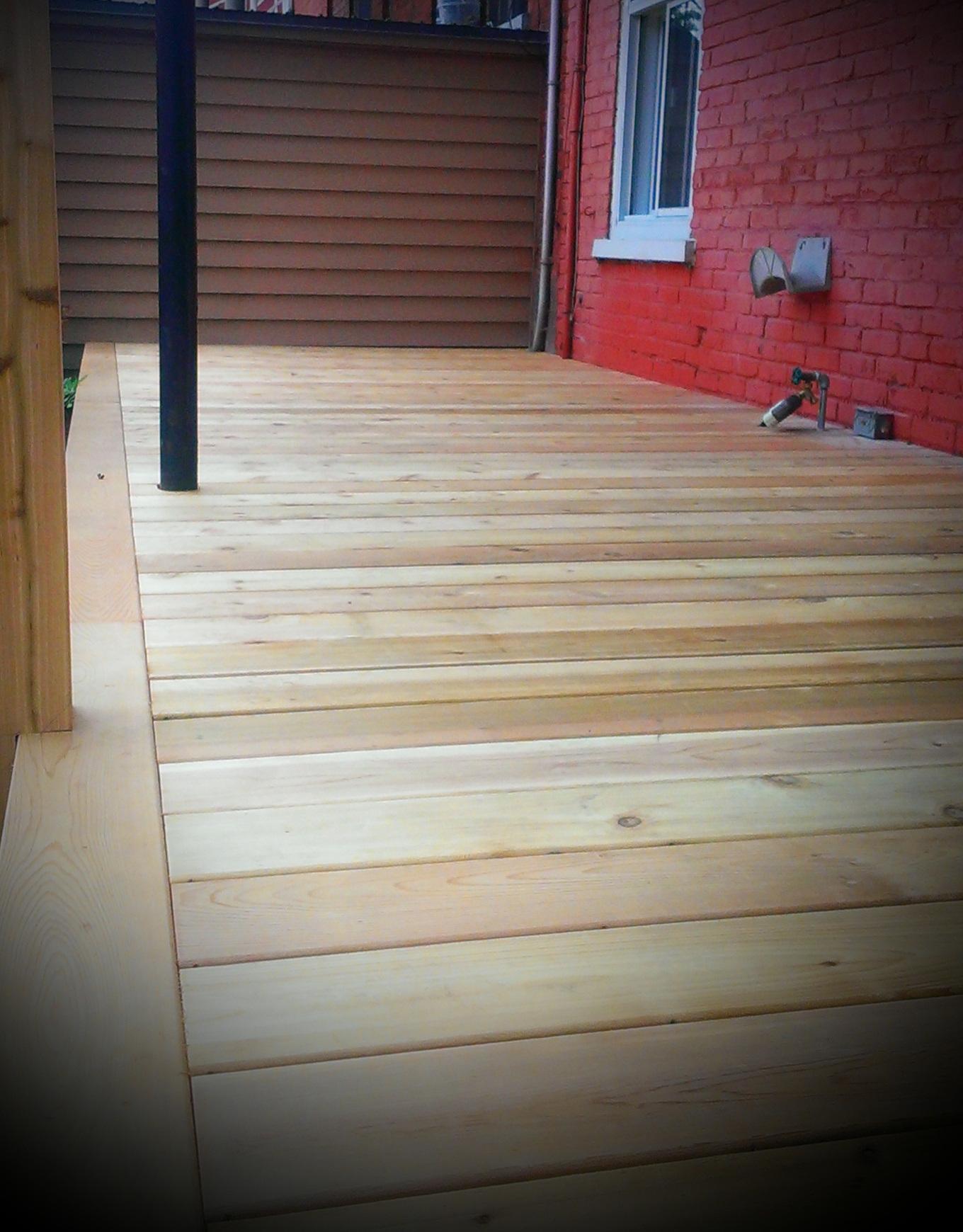 Terrasse bois Deck