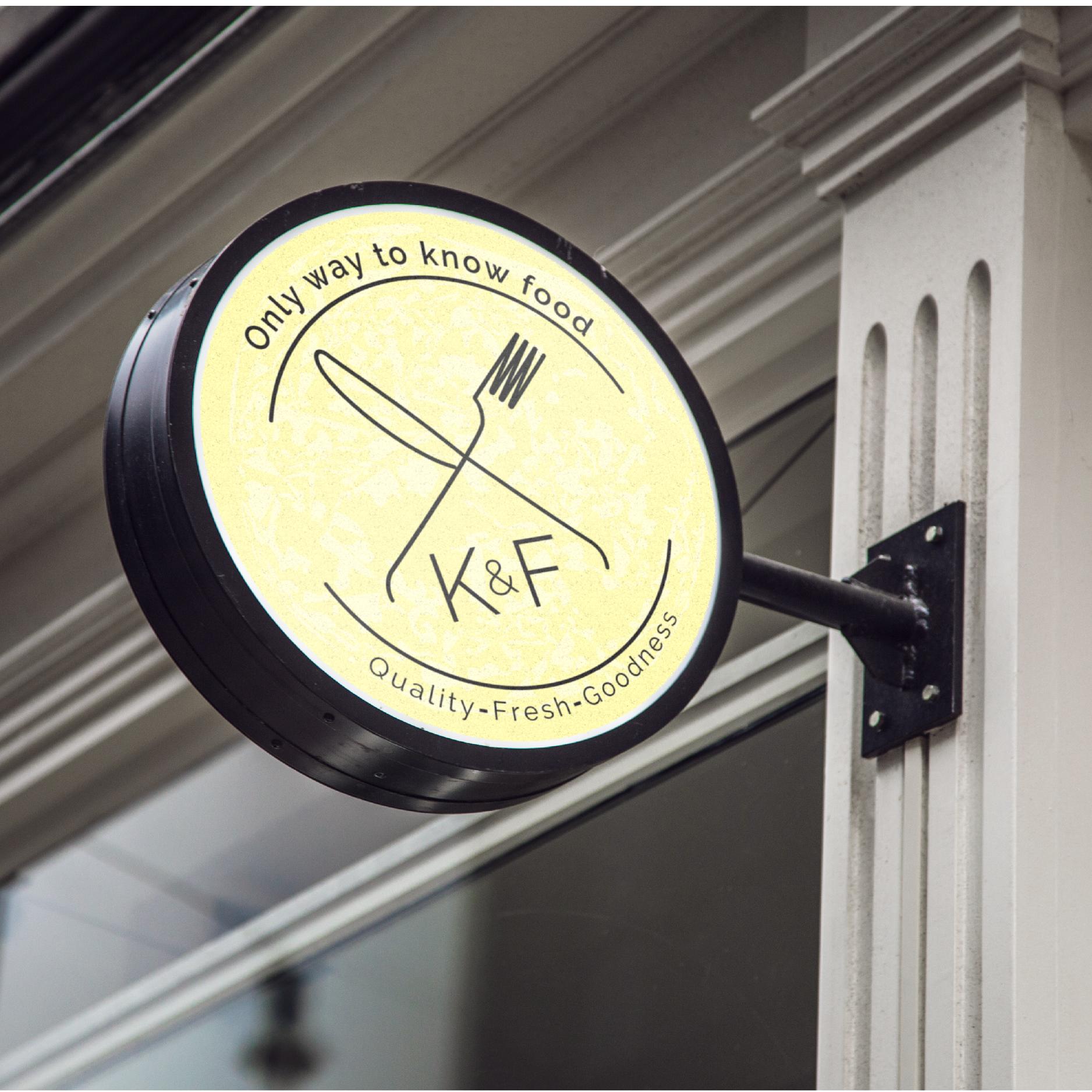 Knife & Fork - Branding, Collateral