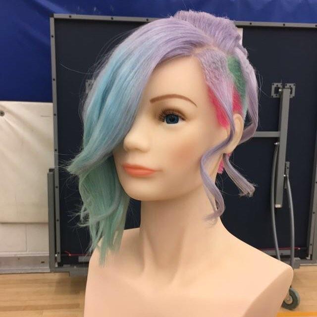 Skills competition! #MITT #school #hairdresser