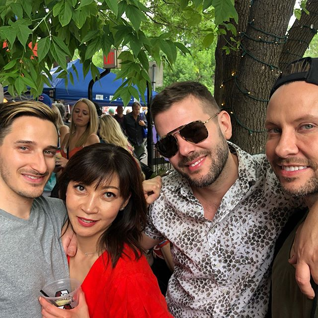 Happy pride #tcpride #minneapolispride @mrbauchy @soonjoolee @stevenmathew what a blast 🥰