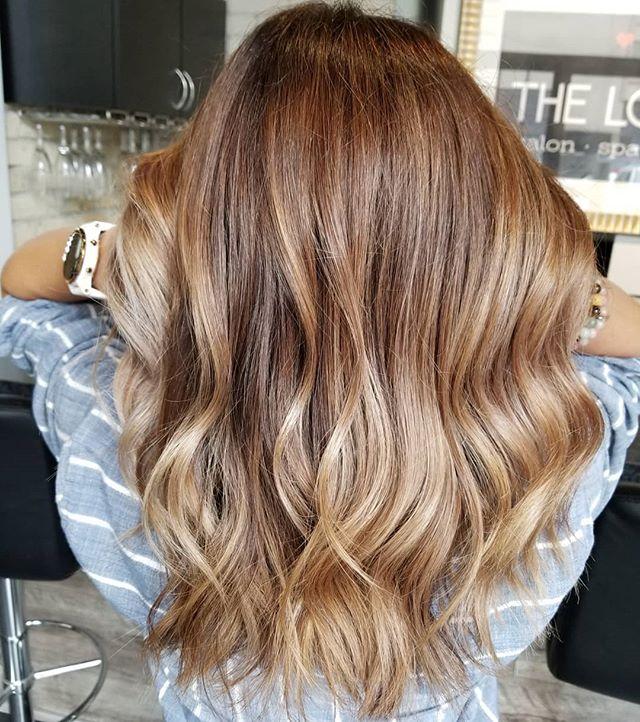 Harmony of tones • • • #hotd #modernhair #hairtrends2019 #fallhaircolor #fallfashion #freshhair #balayageinspo #hairinspo #loveyourhair #redkenobsessed #redkensalon #winnipeghair #winnipegsalon #winnipeghairstylist #theloftwinnipeg