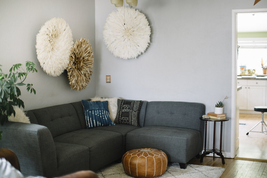 Pillows  c/o Habitation Boheme      JuJu Hats  c/o Zeal Living