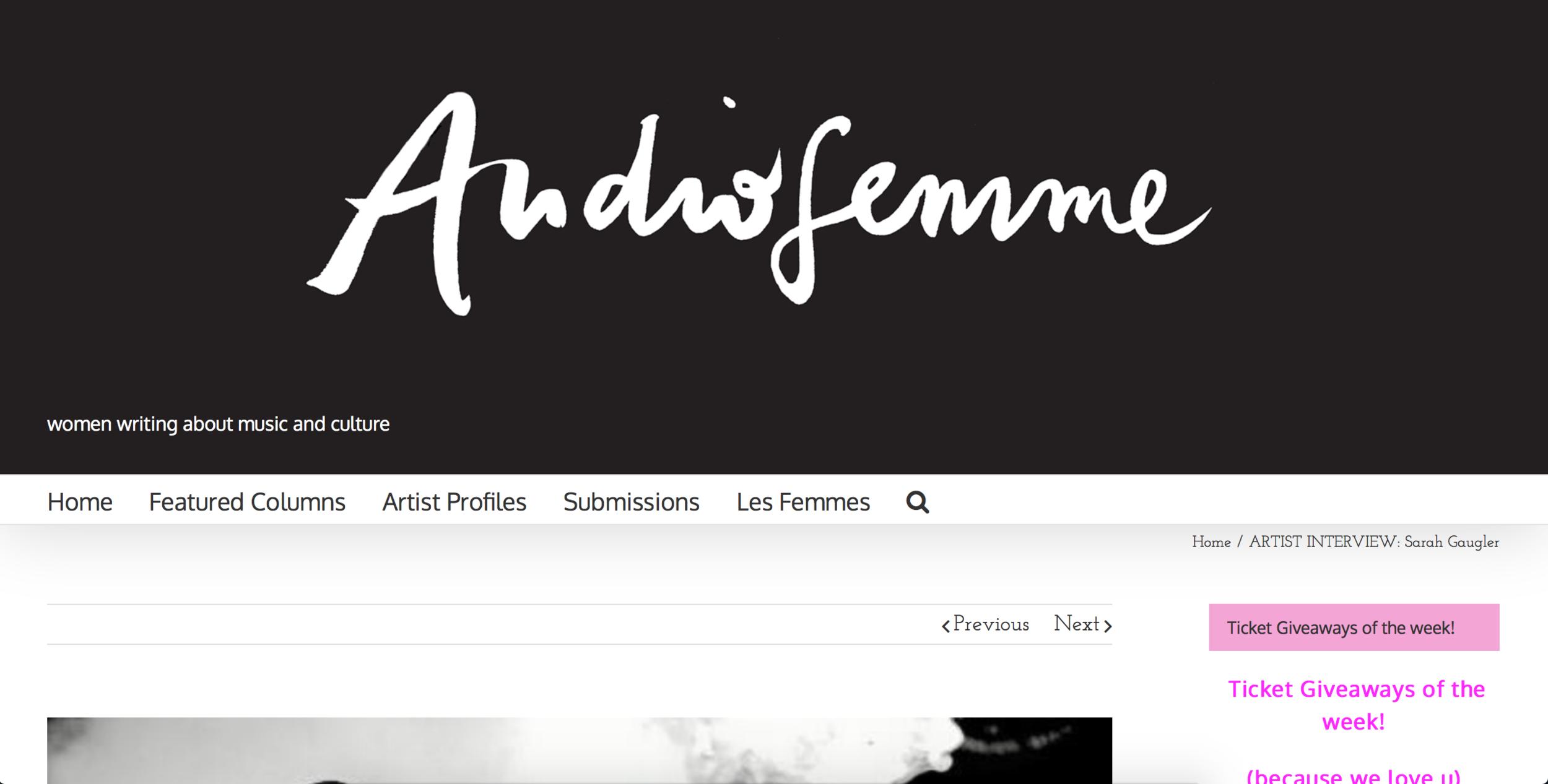 Audiofemme.com
