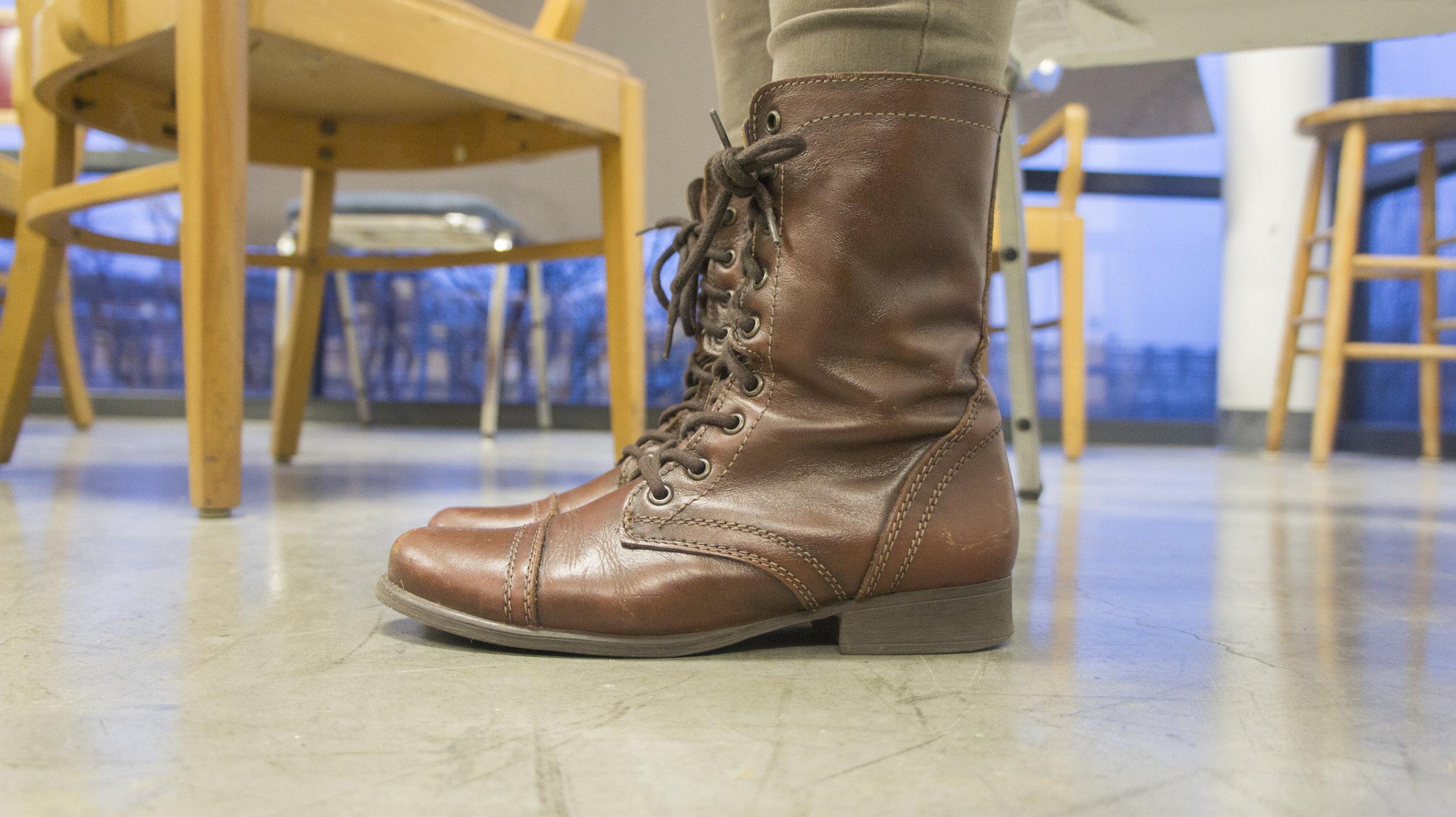 Alexandra Pena - Troopa Combat Boots