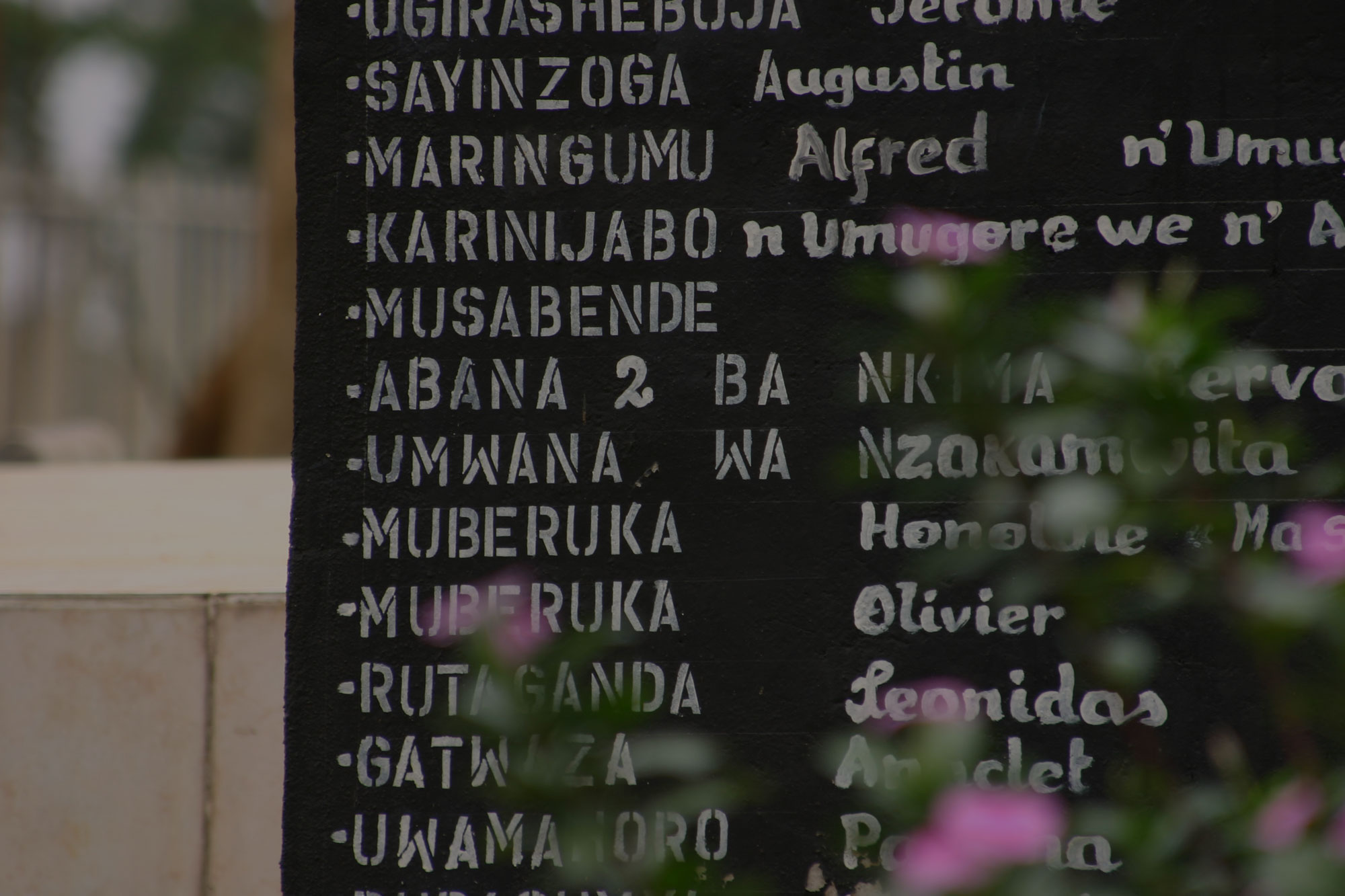 There is an opportunity to learn from the Genocide against Tutsi in Rwanda.