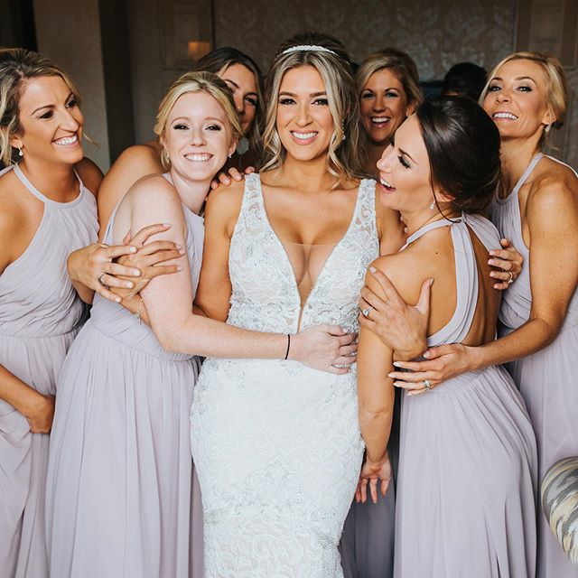 With the support of your closest friends and a #dcweddingplanner that has your back 😉, this is the face you should have on your #weddingday! Let's create some smiles together! - #CYEweddings #dcbride #dcwedding #girlsquad #bridemaids