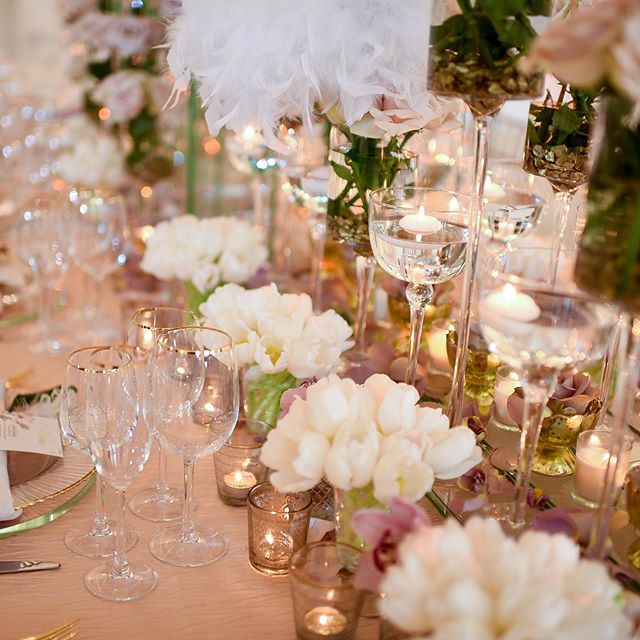 """Love is like a beautiful flower which I may not touch, but whose fragrance makes the garden a place of delight just the same."" – Helen Keller - #CYEweddings #dcweddingplanner #dcbride #baltimoreweddingplanner #weddingprofessionals #tablescapetuesday"