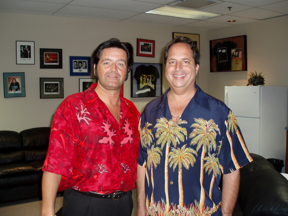 Rory with actor, comedian and singer, Jon Lovitz