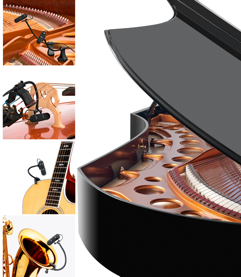 With our real-presence audio hardware, your own instrument can be heard live, anywhere inside/outside of your home. Perfect for entertaining, or listening to your prodigy. Easily add in concert hall effects or mix your favorite music with a simple press from a touchscreen