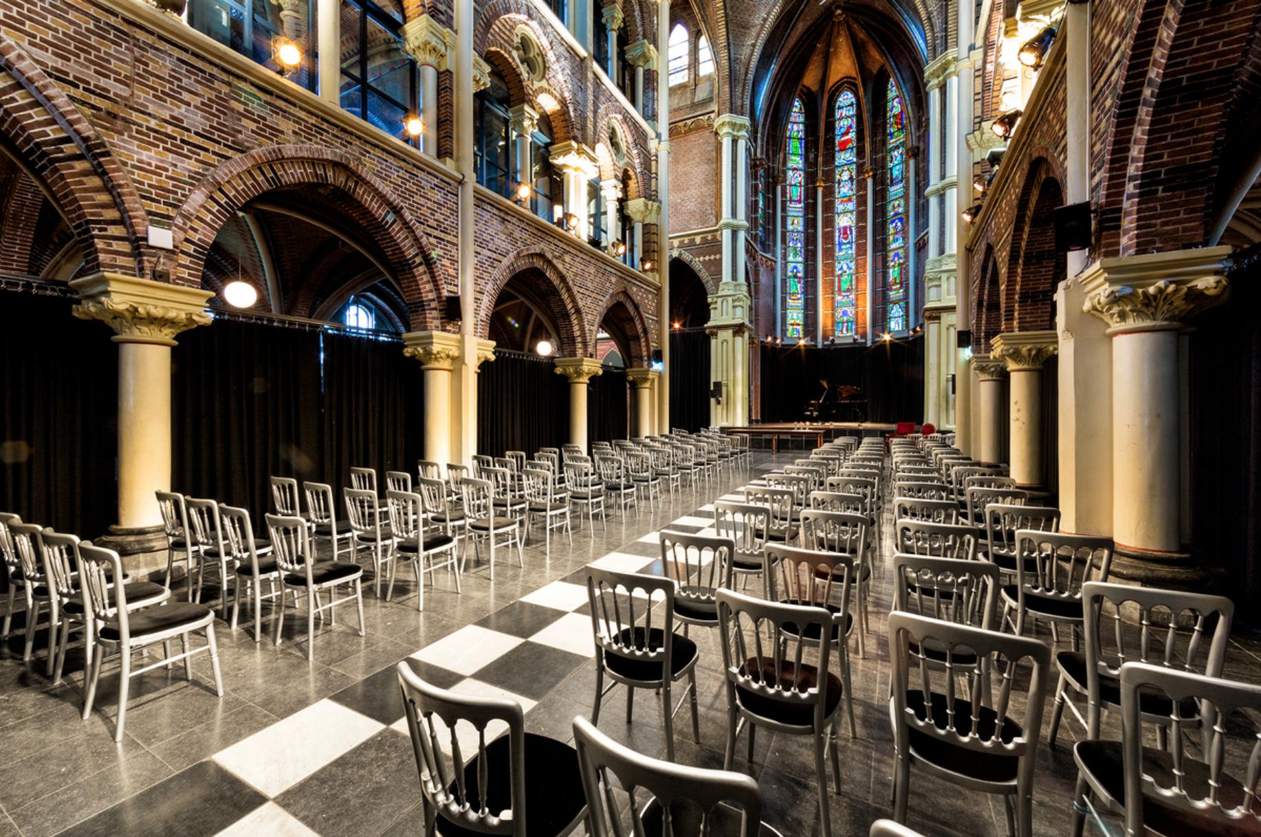 View of the interior of  De Posthoornkerk
