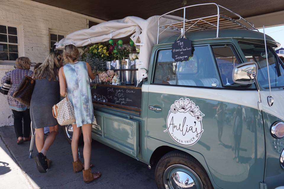 """A flower truck is the ultimate proof of Nashville's """"trying to have a hipster vibe"""" vibe."""