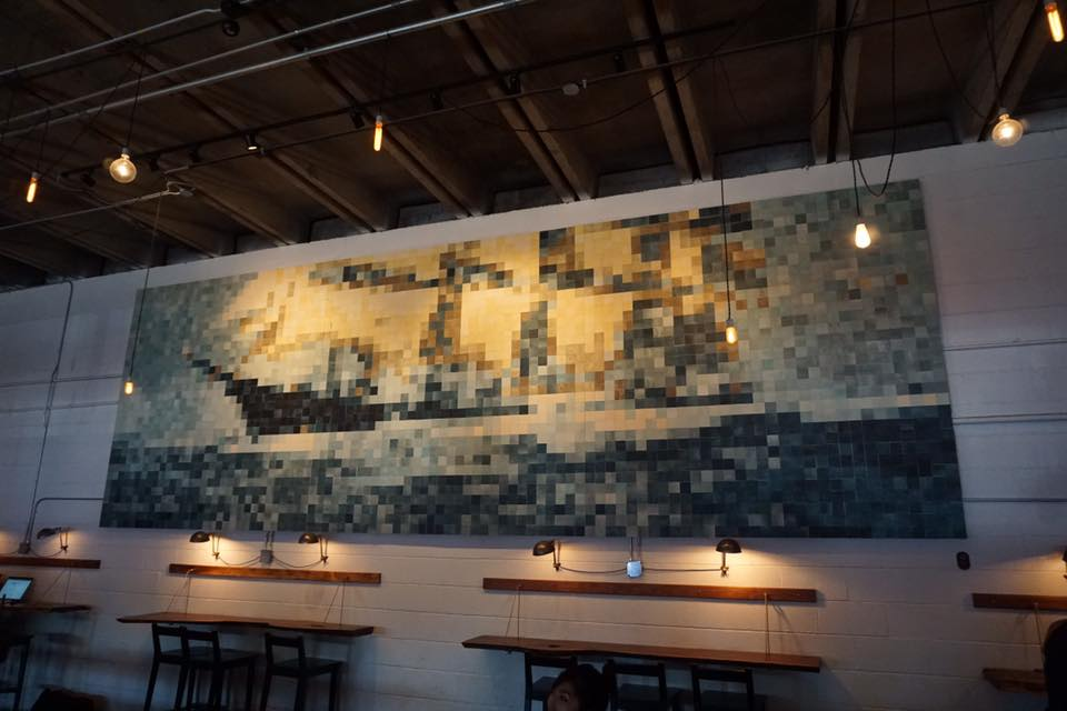 Barista Parlor has a few locations, though they aren't in 12 South. I just wanted to include this photo in my blogpost because I love this art piece, and wasn't sure where else to include it - ha!
