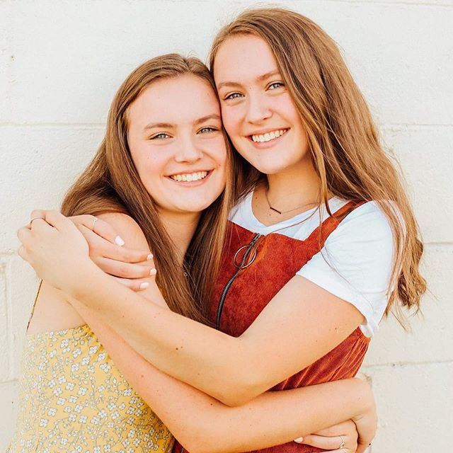 They couldn't be more gorgeous!! Class of 2020! Twins!