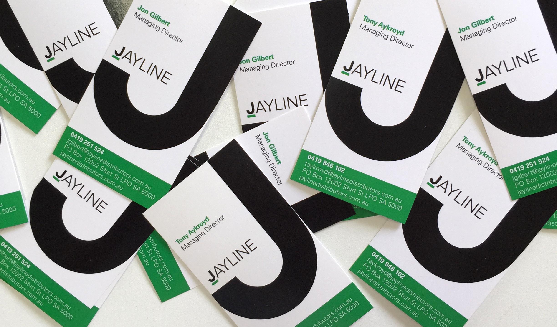 Jayline Logo and Business Card design