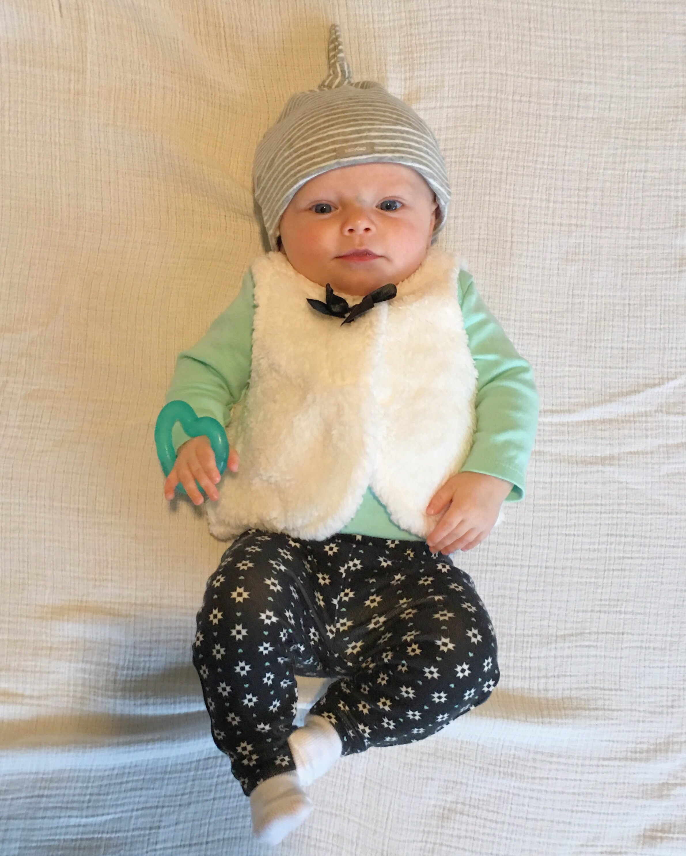 Teething | Vienna's outfit baby ootd kids fashion | Meagan Kludt | the winemakers wife